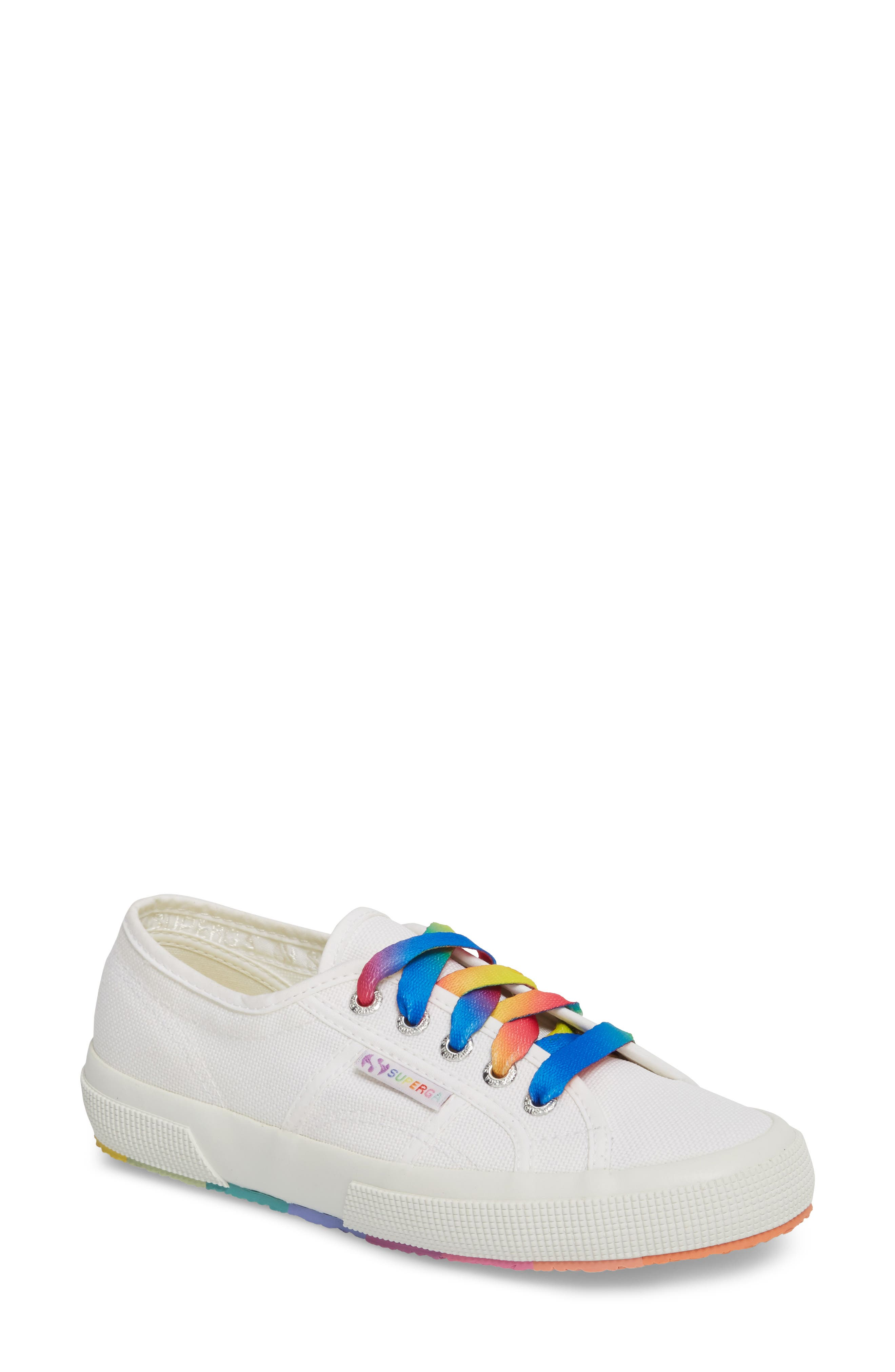 2750 Multicolor Sneaker,                             Main thumbnail 1, color,                             White Multi