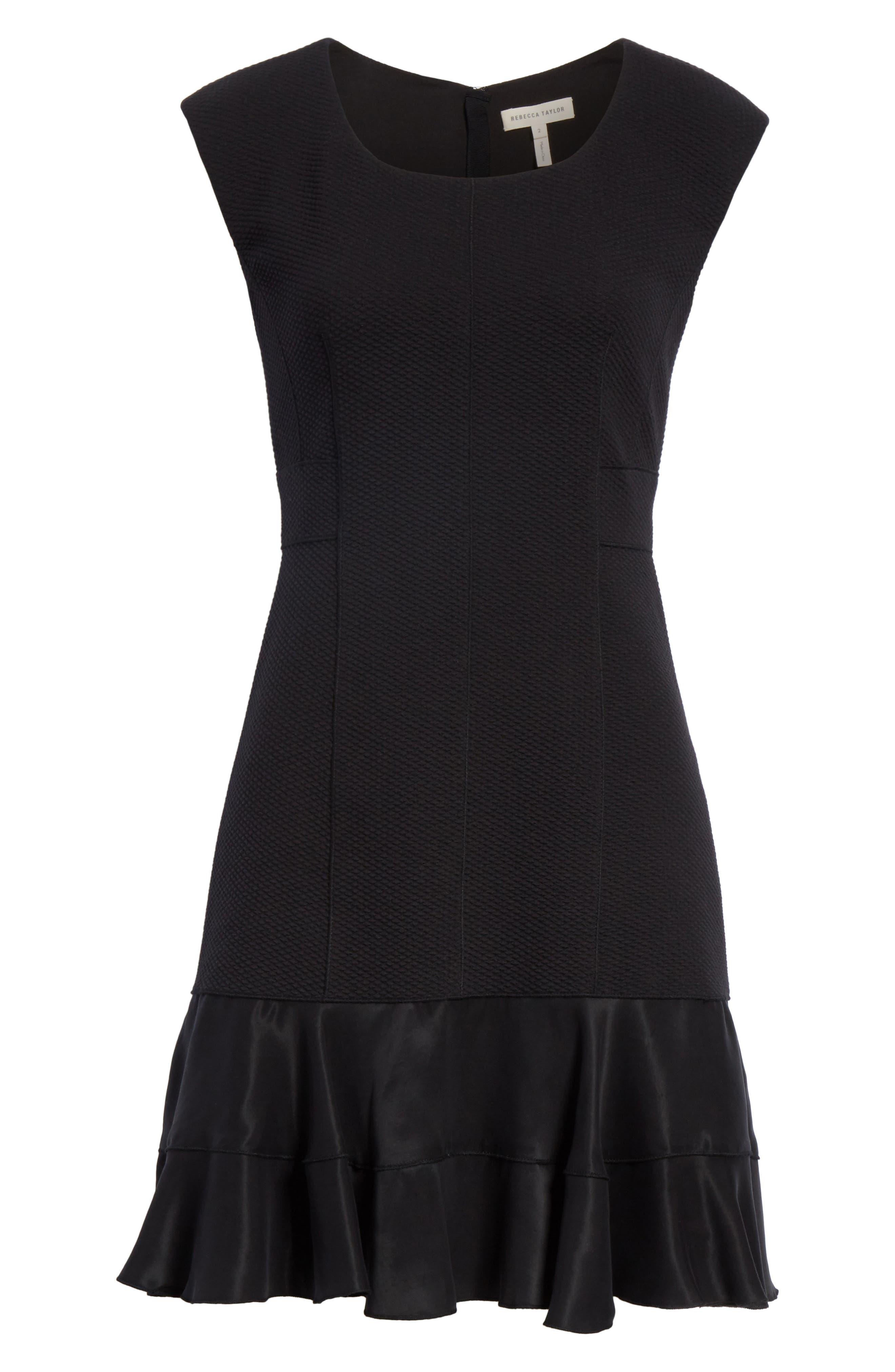 Terri Dress,                             Alternate thumbnail 6, color,                             Black