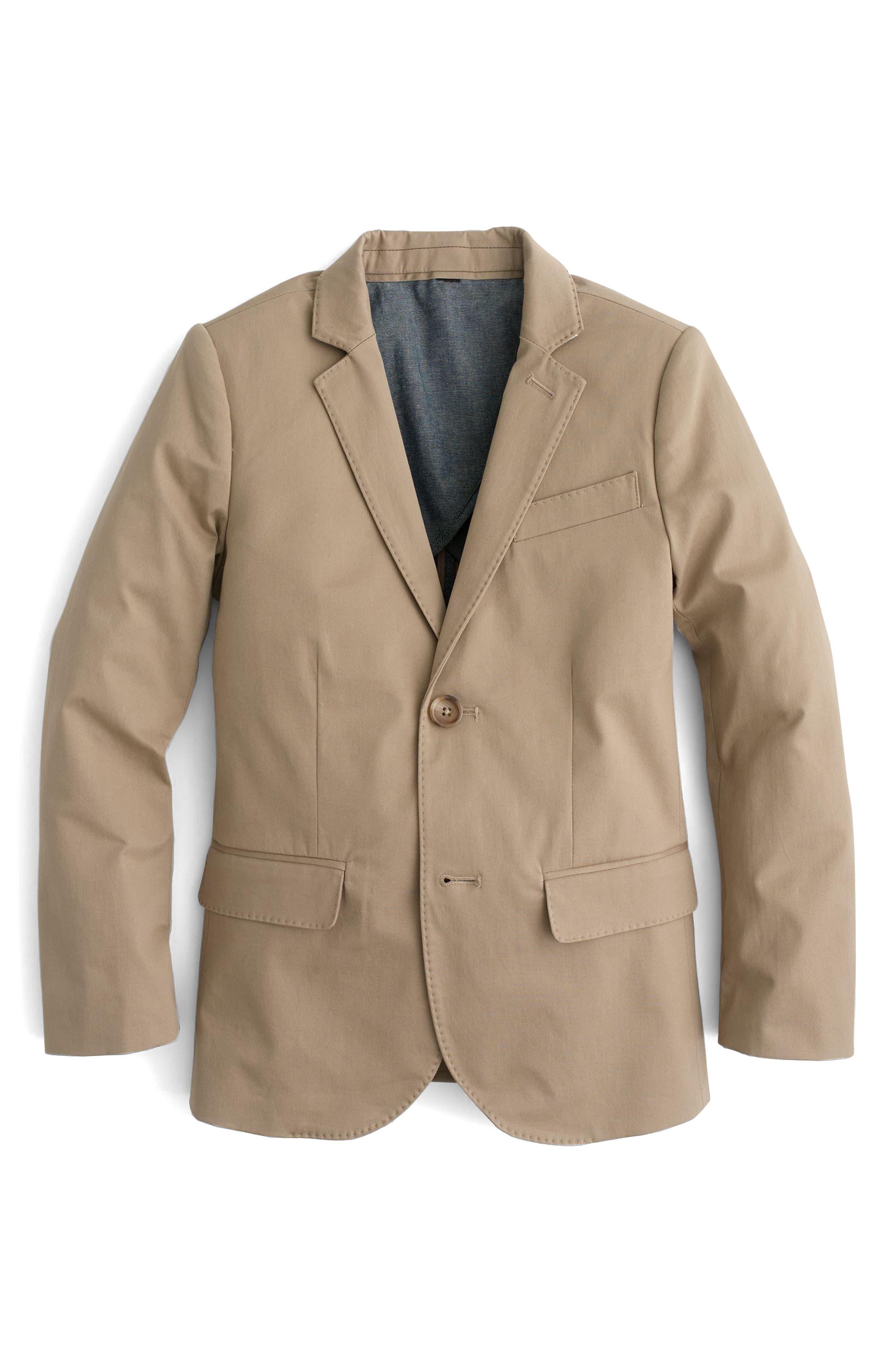 Ludlow Suit Jacket,                             Main thumbnail 1, color,                             Khaki Wx0166