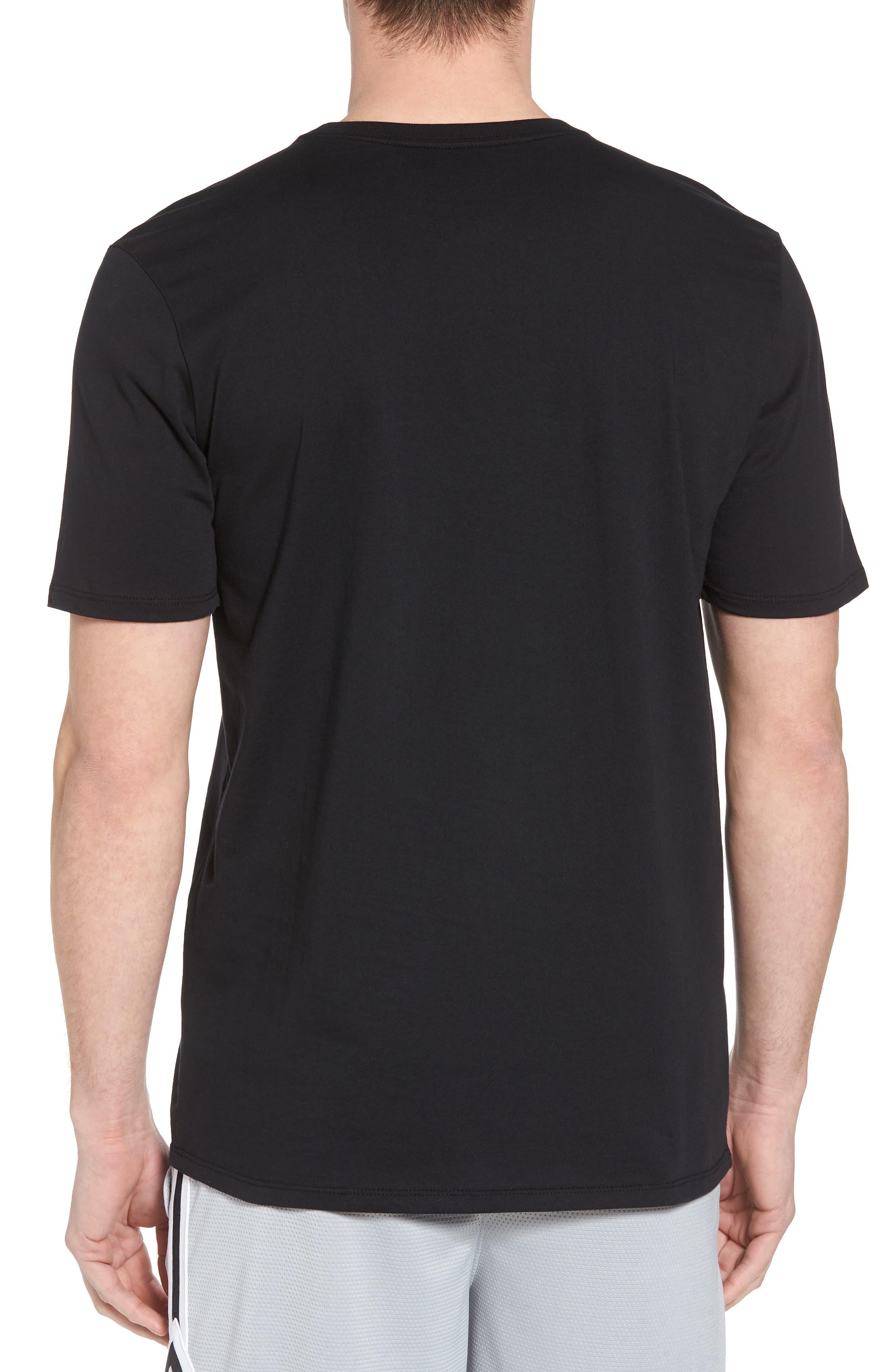 Sportswear City of Flight T-Shirt,                             Alternate thumbnail 2, color,                             Black/ White