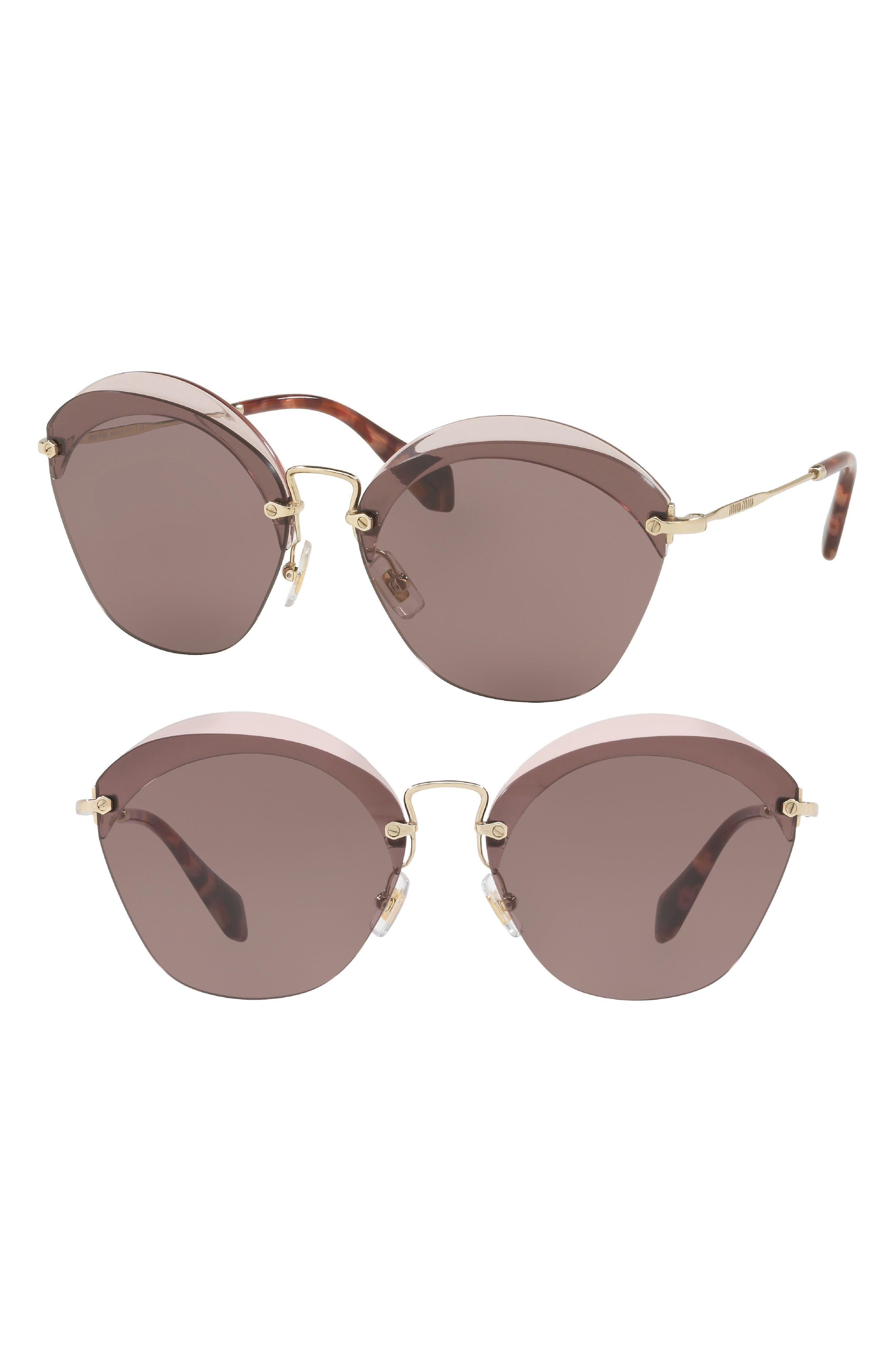 Miu Miu 62mm Sunglasses
