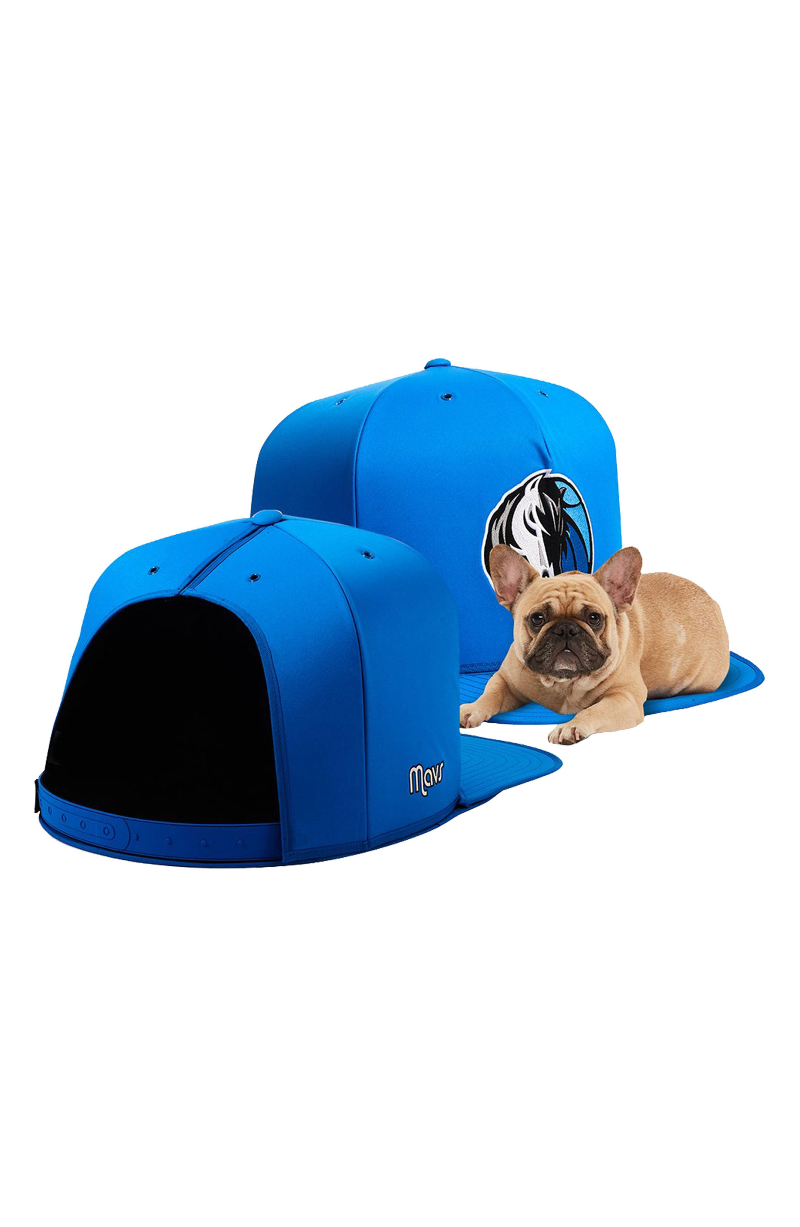 Dallas Mavericks Pet Bed,                             Alternate thumbnail 2, color,                             Blue