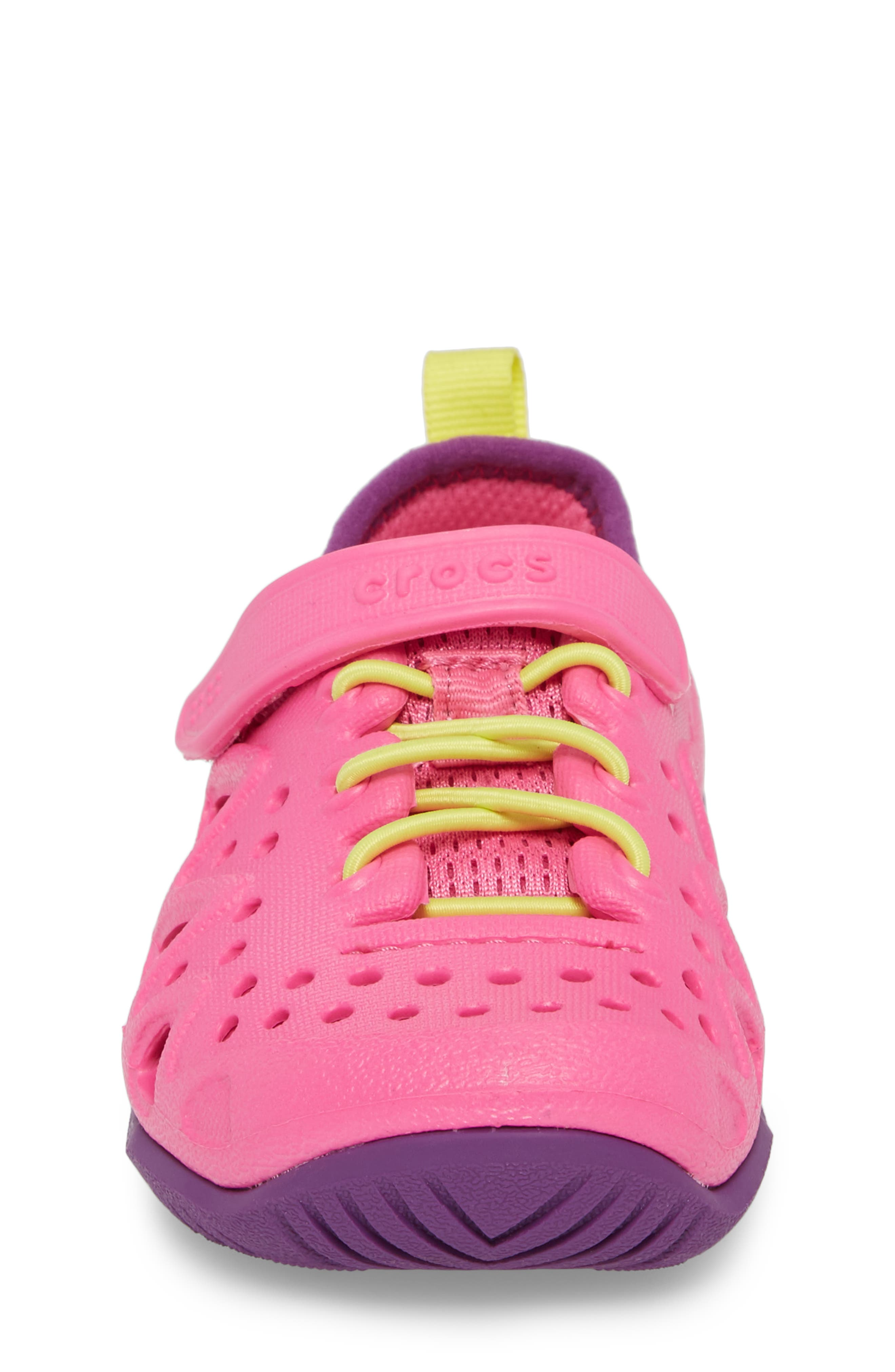 Swiftwater Water Friendly Sneaker,                             Alternate thumbnail 4, color,                             Neon Magenta