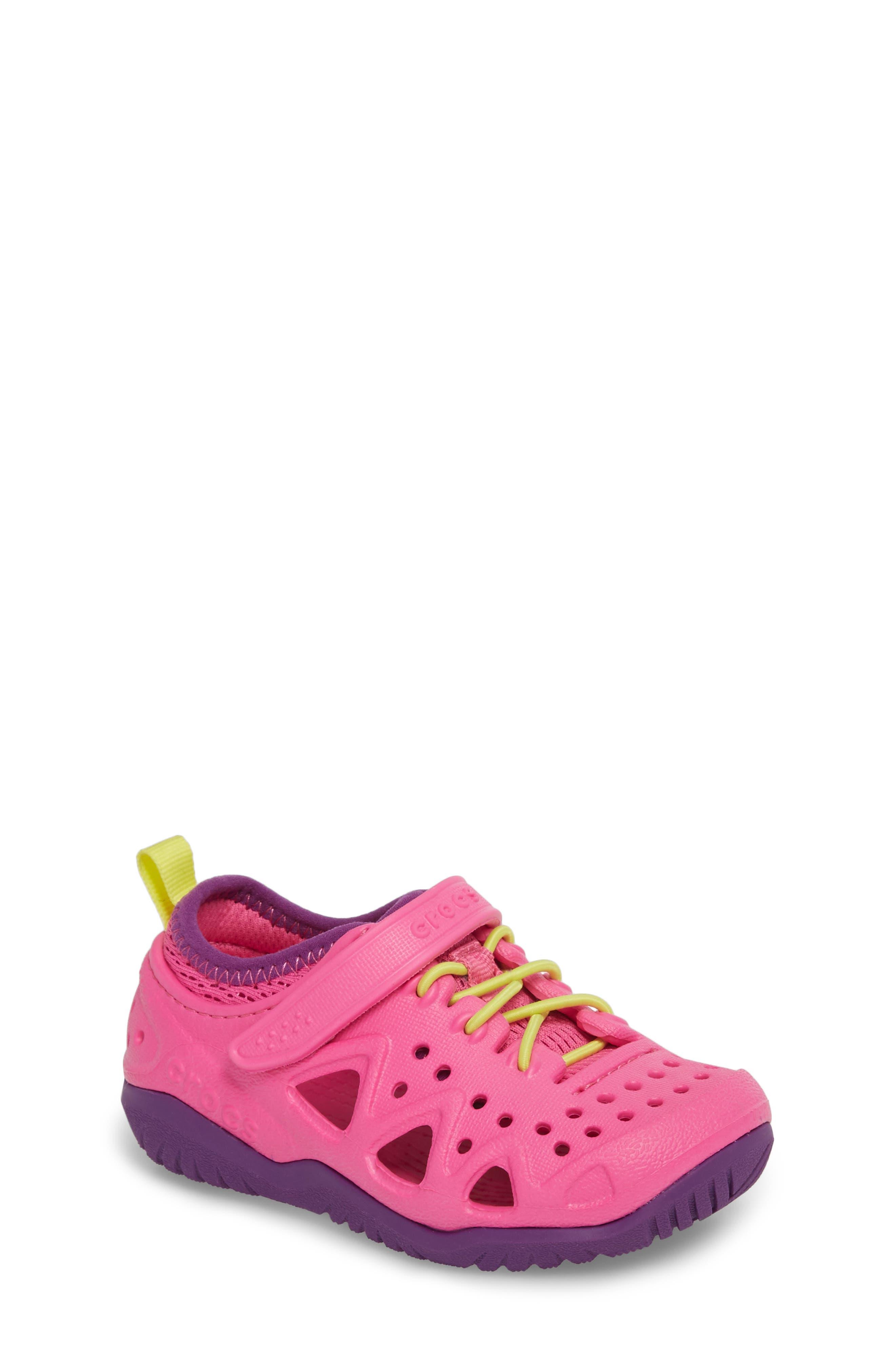 CROCS™ Swiftwater Water Friendly Sneaker (Walker, Toddler & Little Kid)