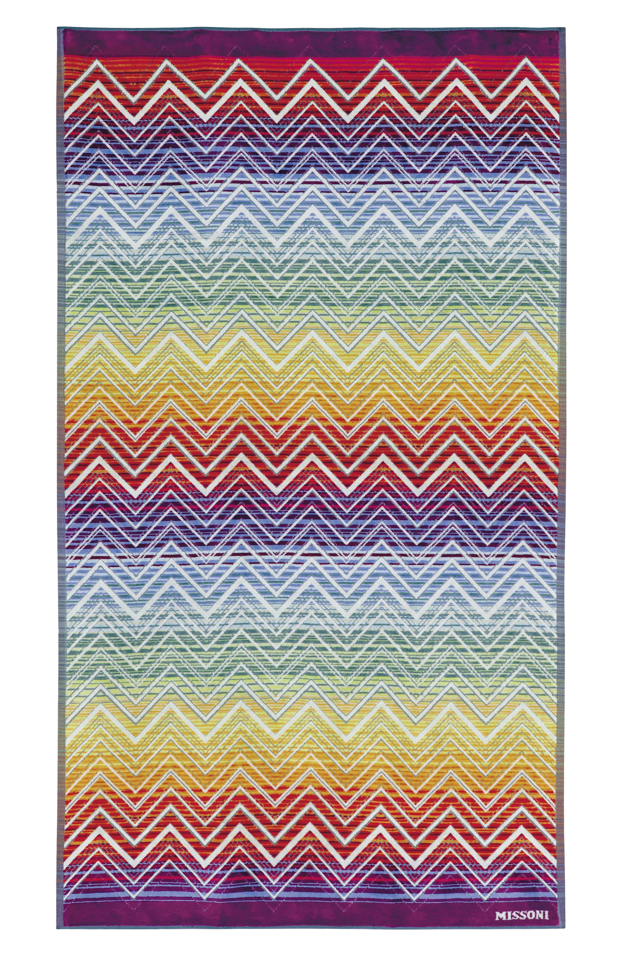 Tolemeo Beach Towel,                             Main thumbnail 1, color,                             Multi Bright