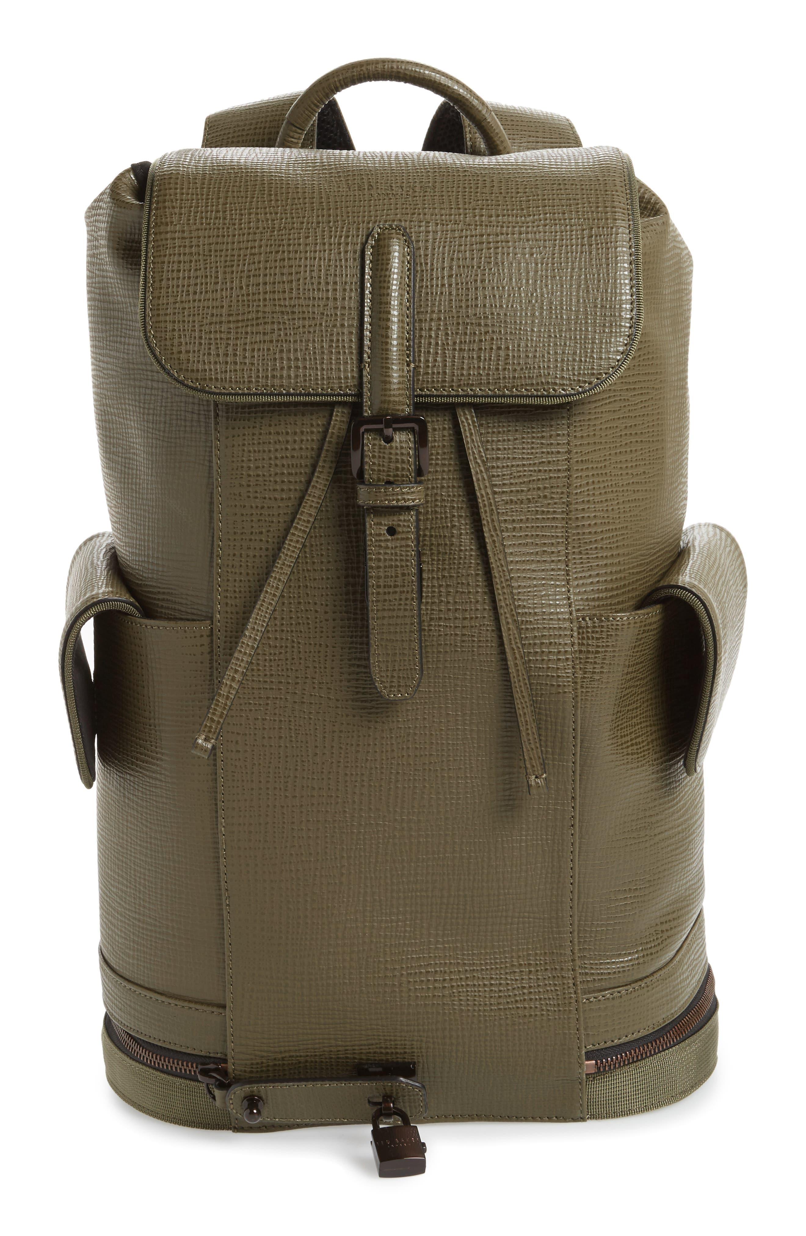 Thorr Palmelato Backpack,                         Main,                         color, Olive