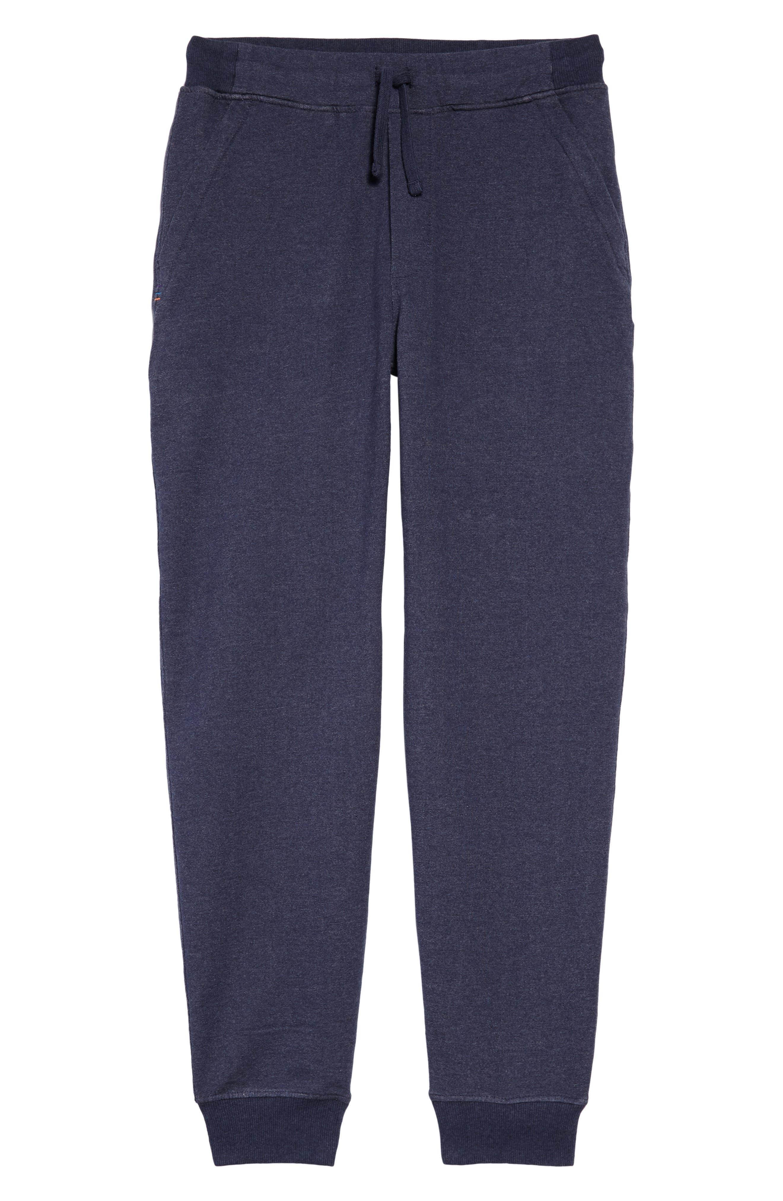 M's Mahnya Fleece Jogger Pants,                             Alternate thumbnail 6, color,                             Navy Blue
