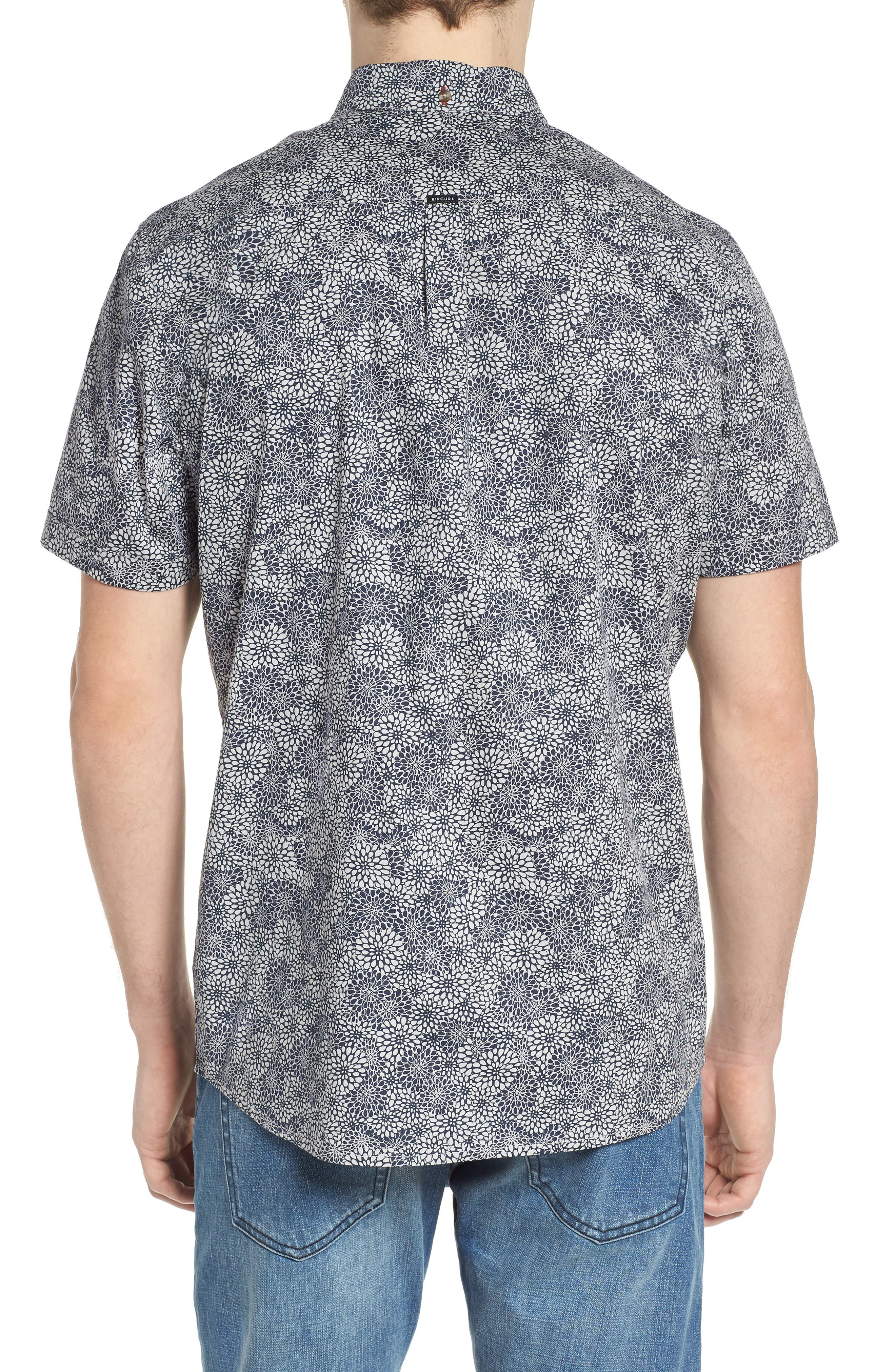 Alternate Image 2  - Rip Curl Preset Short Sleeve Shirt