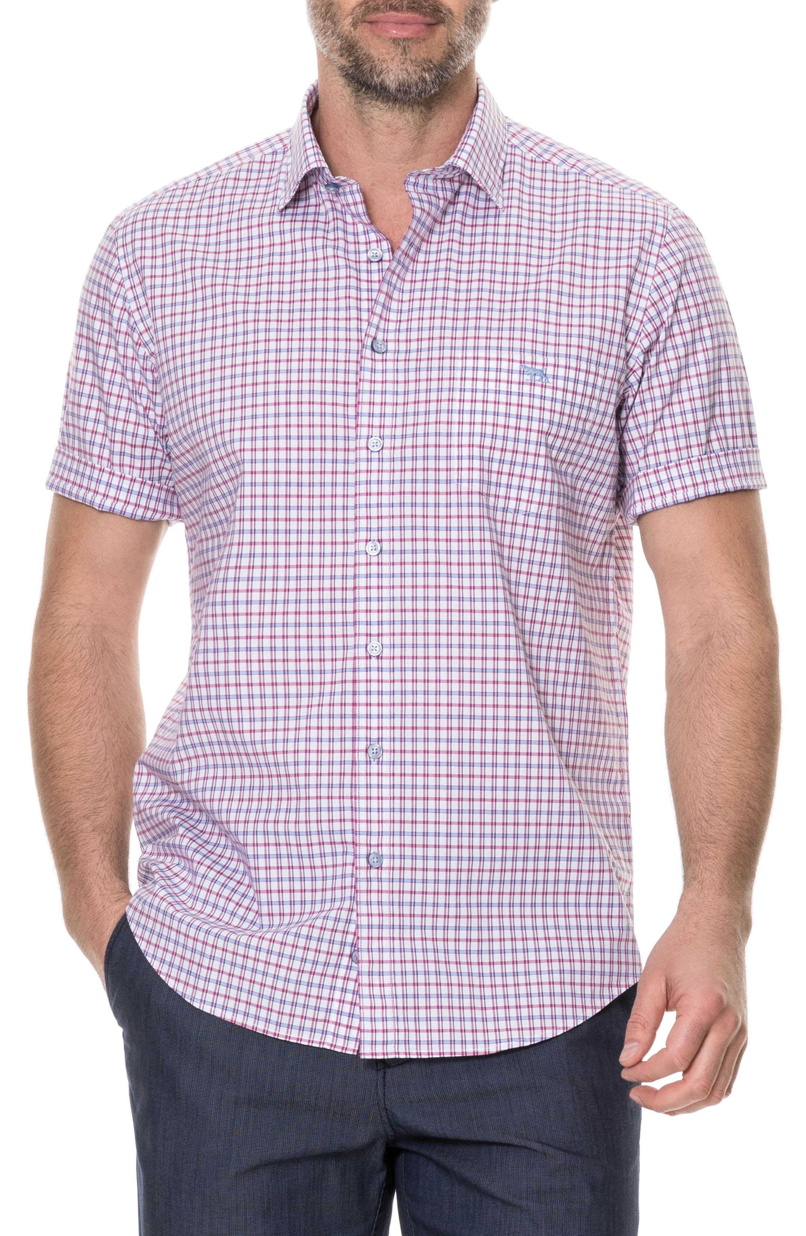 Waterford Regular Fit Sport Shirt,                         Main,                         color, Mulberry