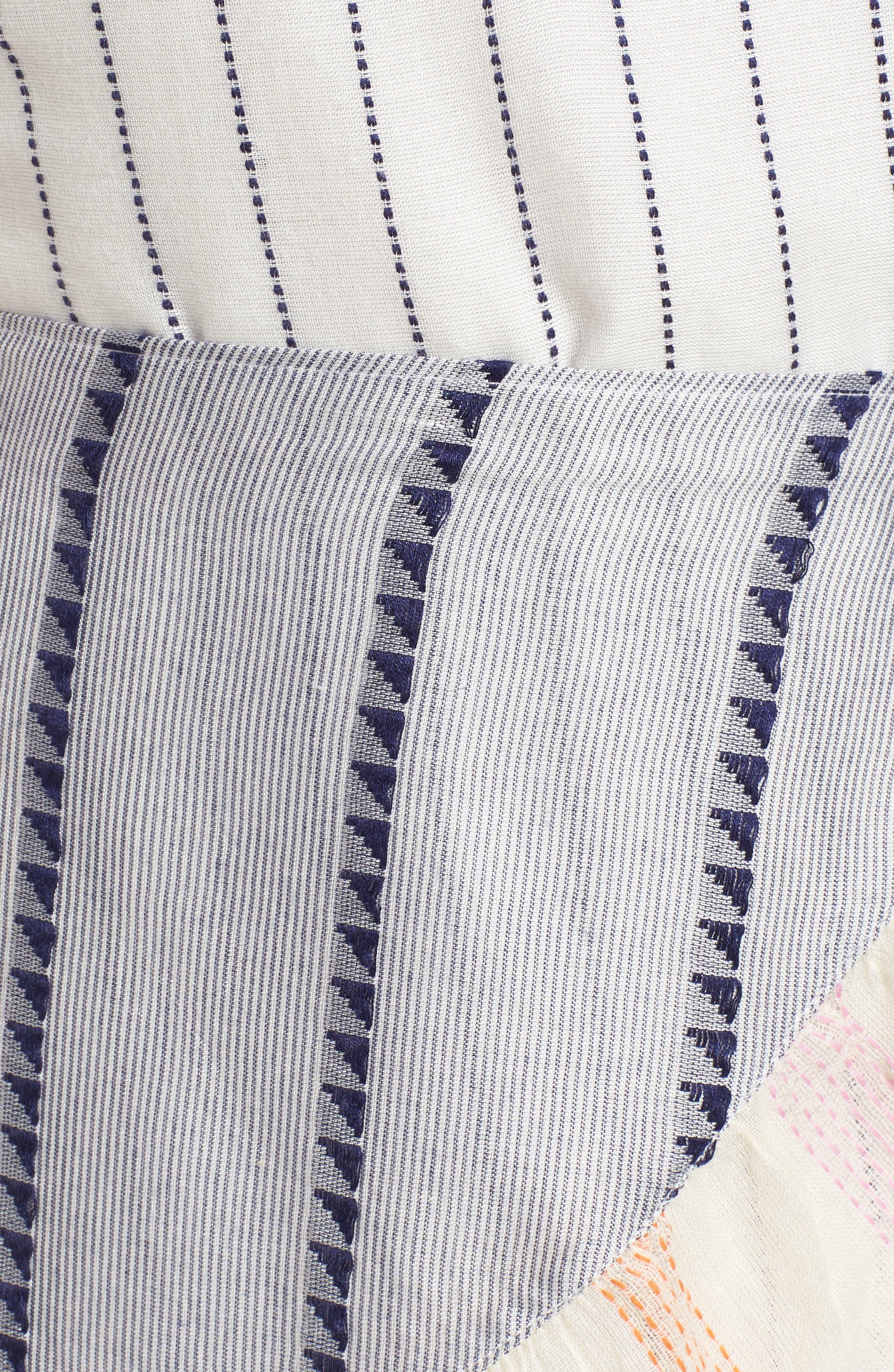 Jenny Minidress,                             Alternate thumbnail 5, color,                             Calamar Stripe