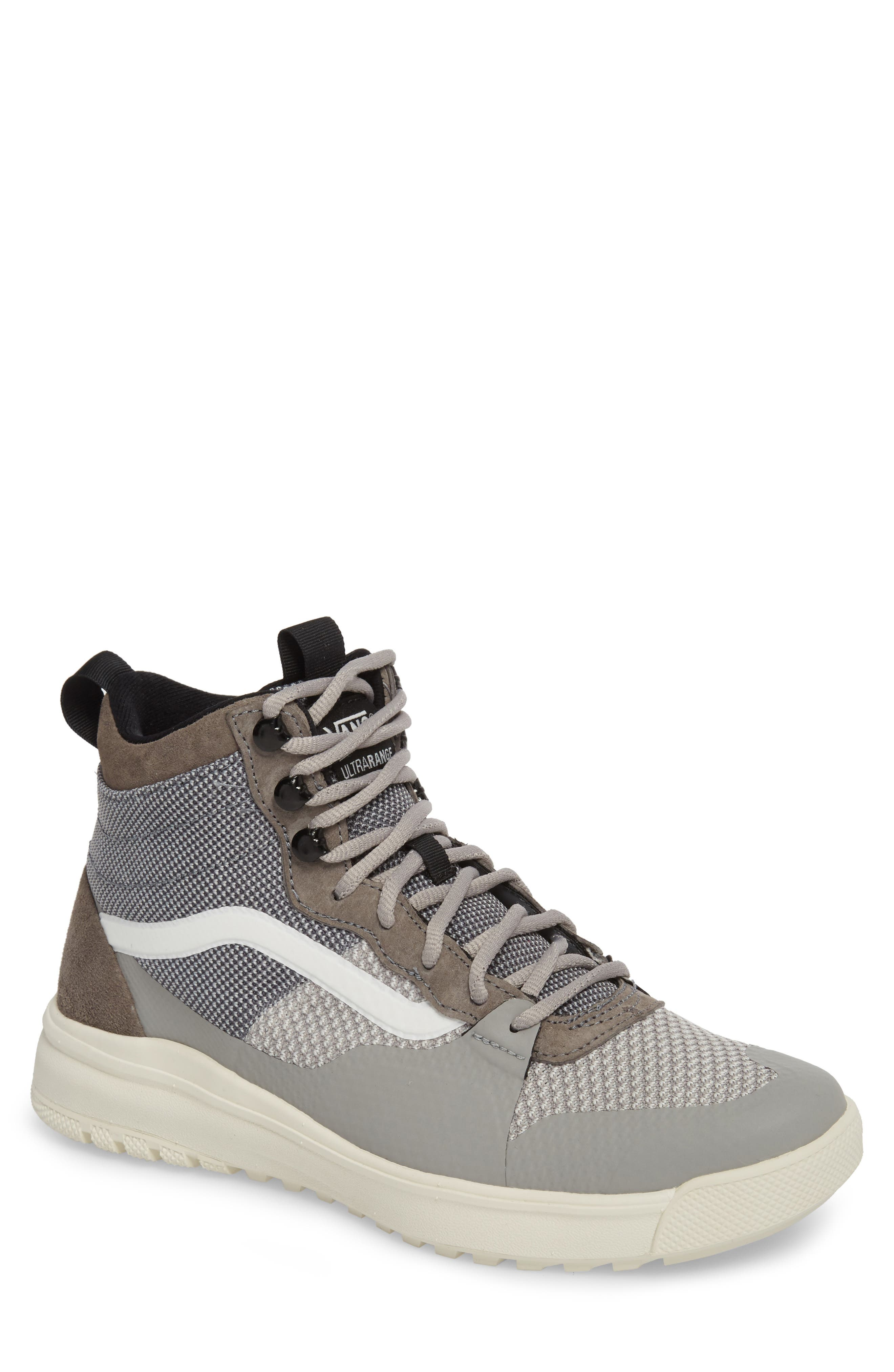 UltraRange DX High Top Sneaker,                             Main thumbnail 1, color,                             Pewter/ Drizzle