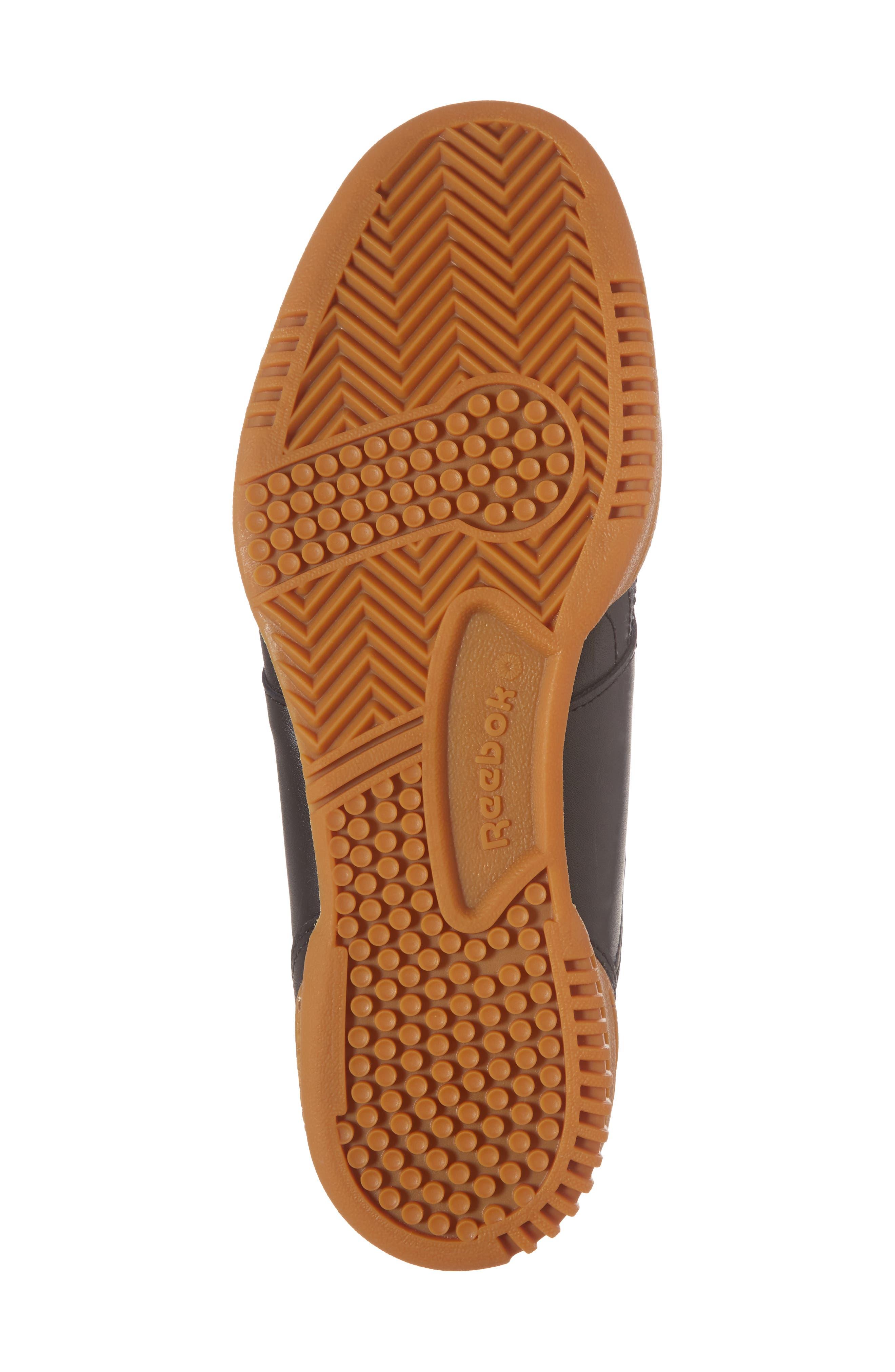 Workout Low Top Sneaker,                             Alternate thumbnail 6, color,                             Black
