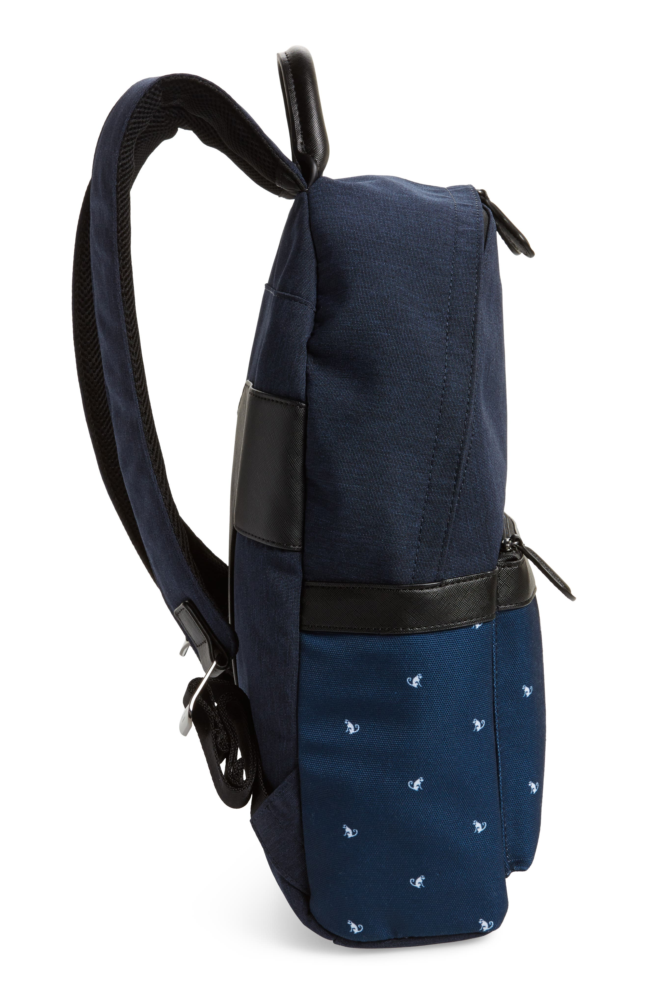 Mangoo Backpack,                             Alternate thumbnail 5, color,                             Navy