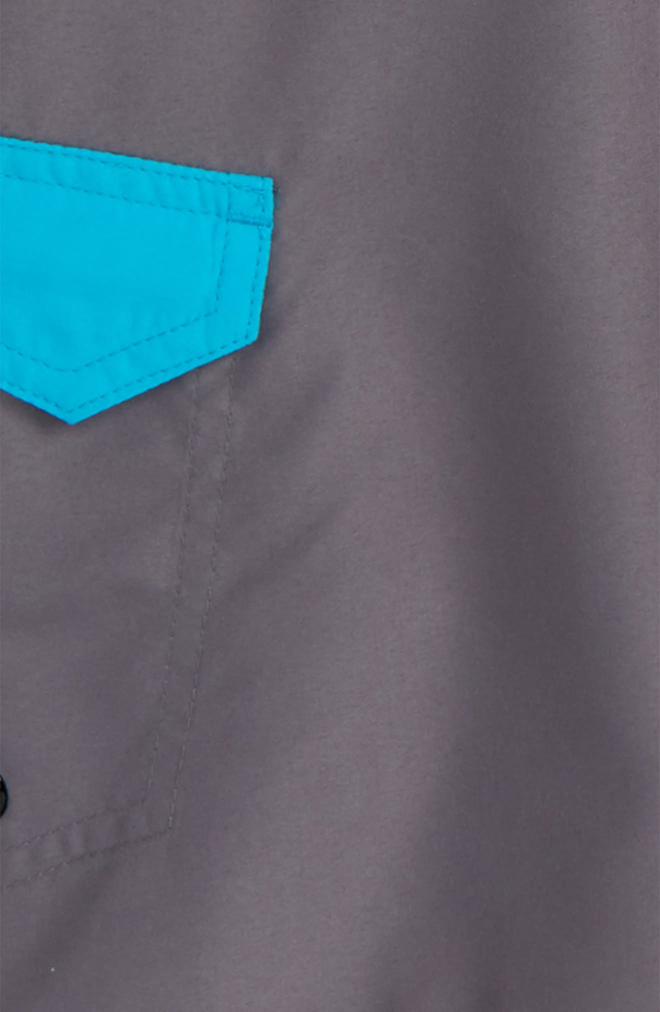 Drift Board Shorts,                             Alternate thumbnail 2, color,                             Gunsmoke