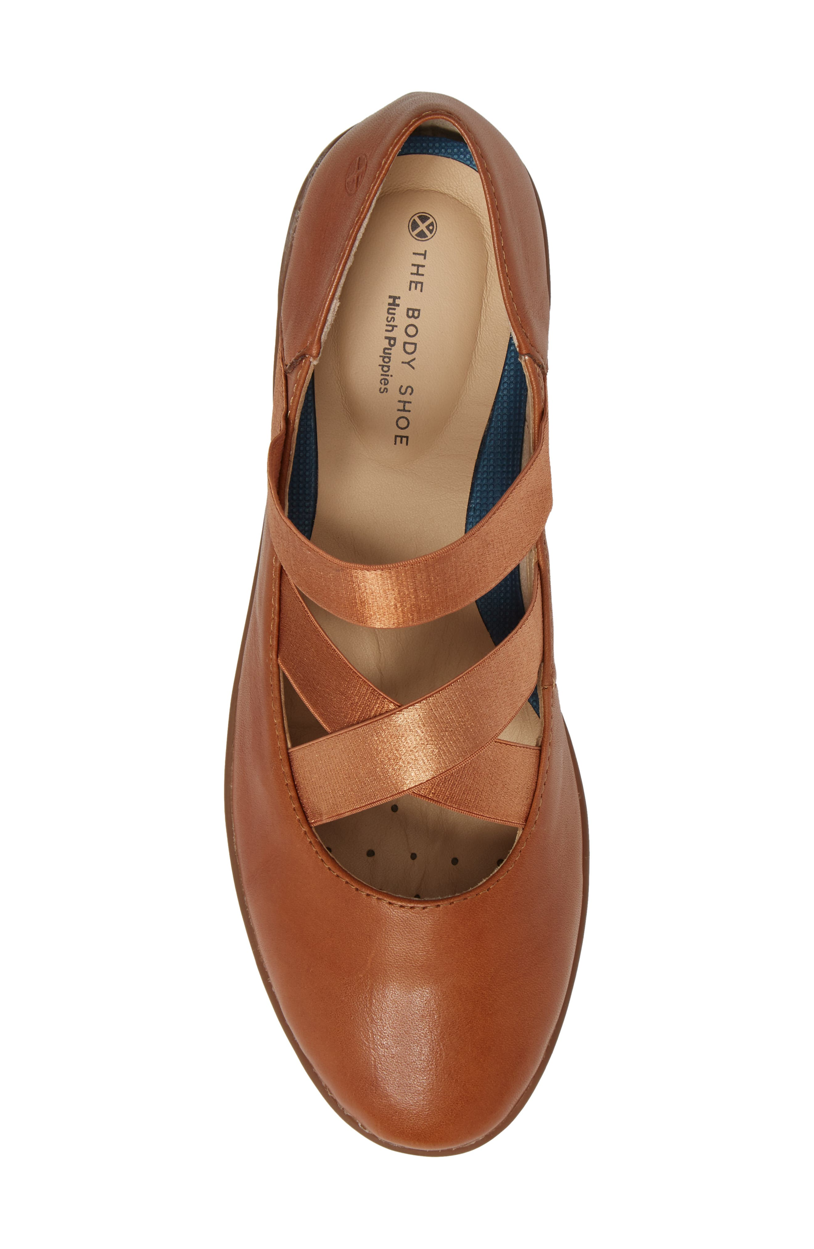 Alternate Image 5  - Hush Puppies® Meree Madrine Cross Strap Flat (Women)