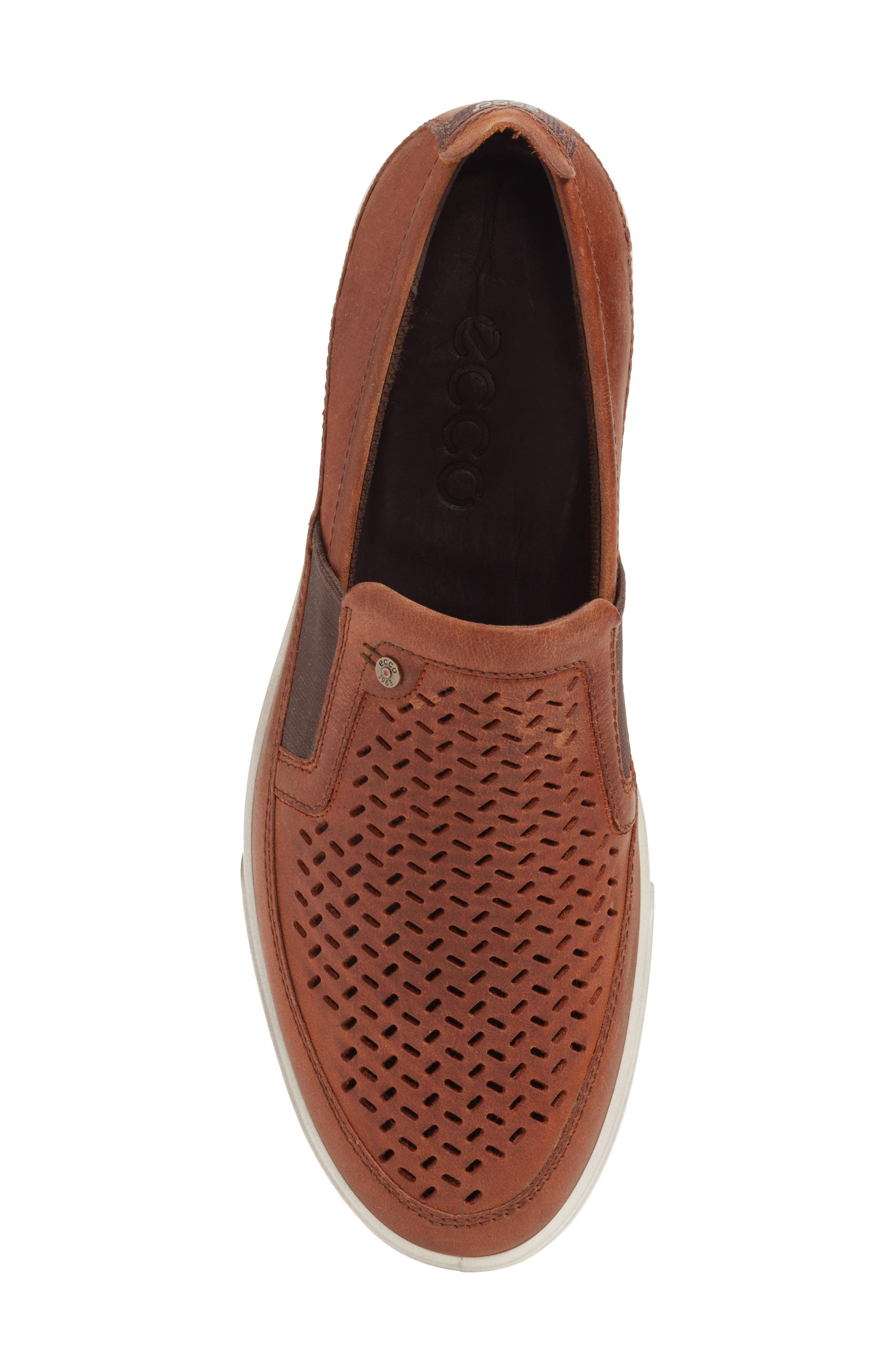 Alternate Image 5  - ECCO 'Collin' Perforated Slip On Sneaker (Men)