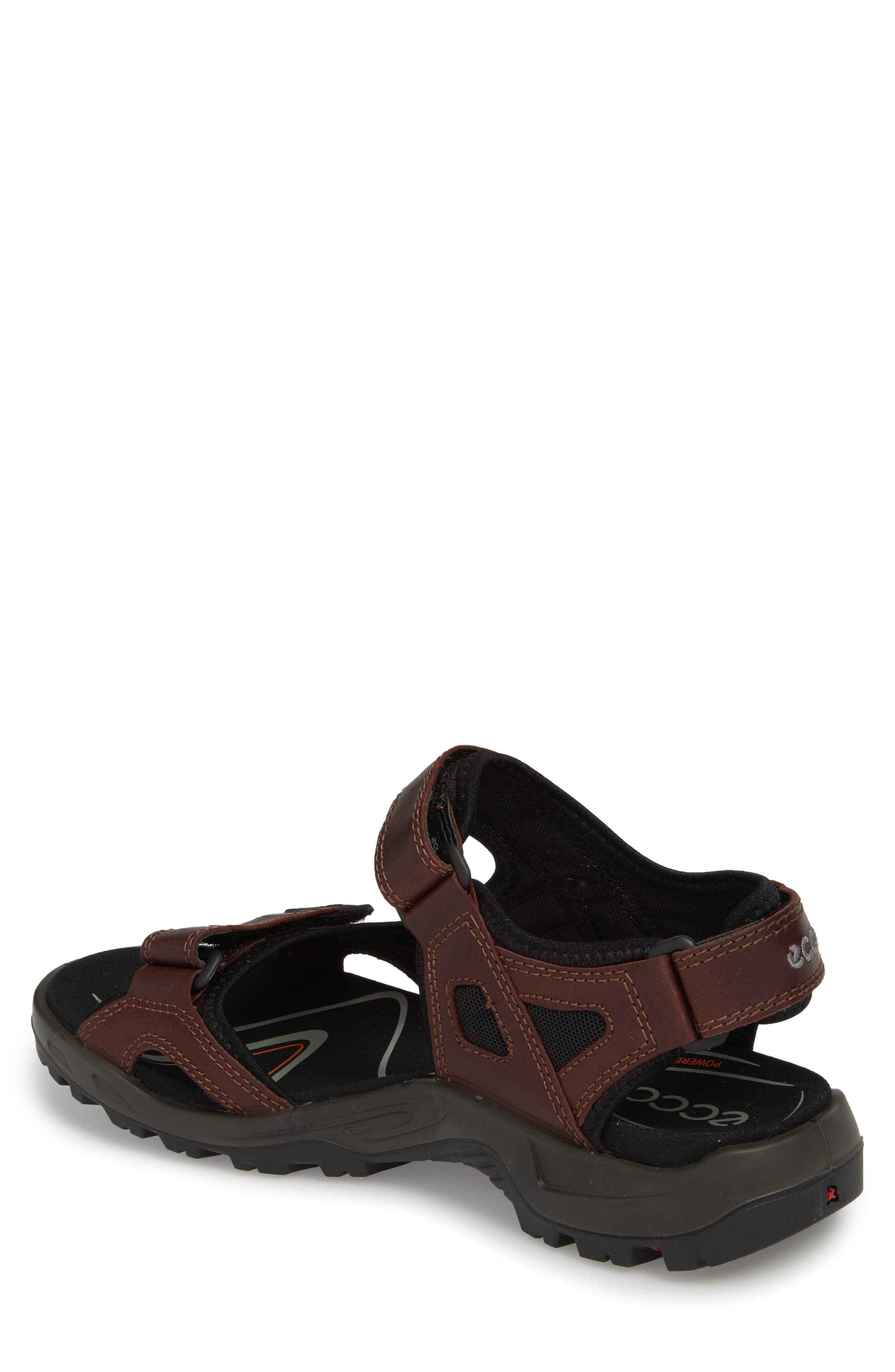 Offroad Sport Sandal,                             Alternate thumbnail 2, color,                             Brandy Leather