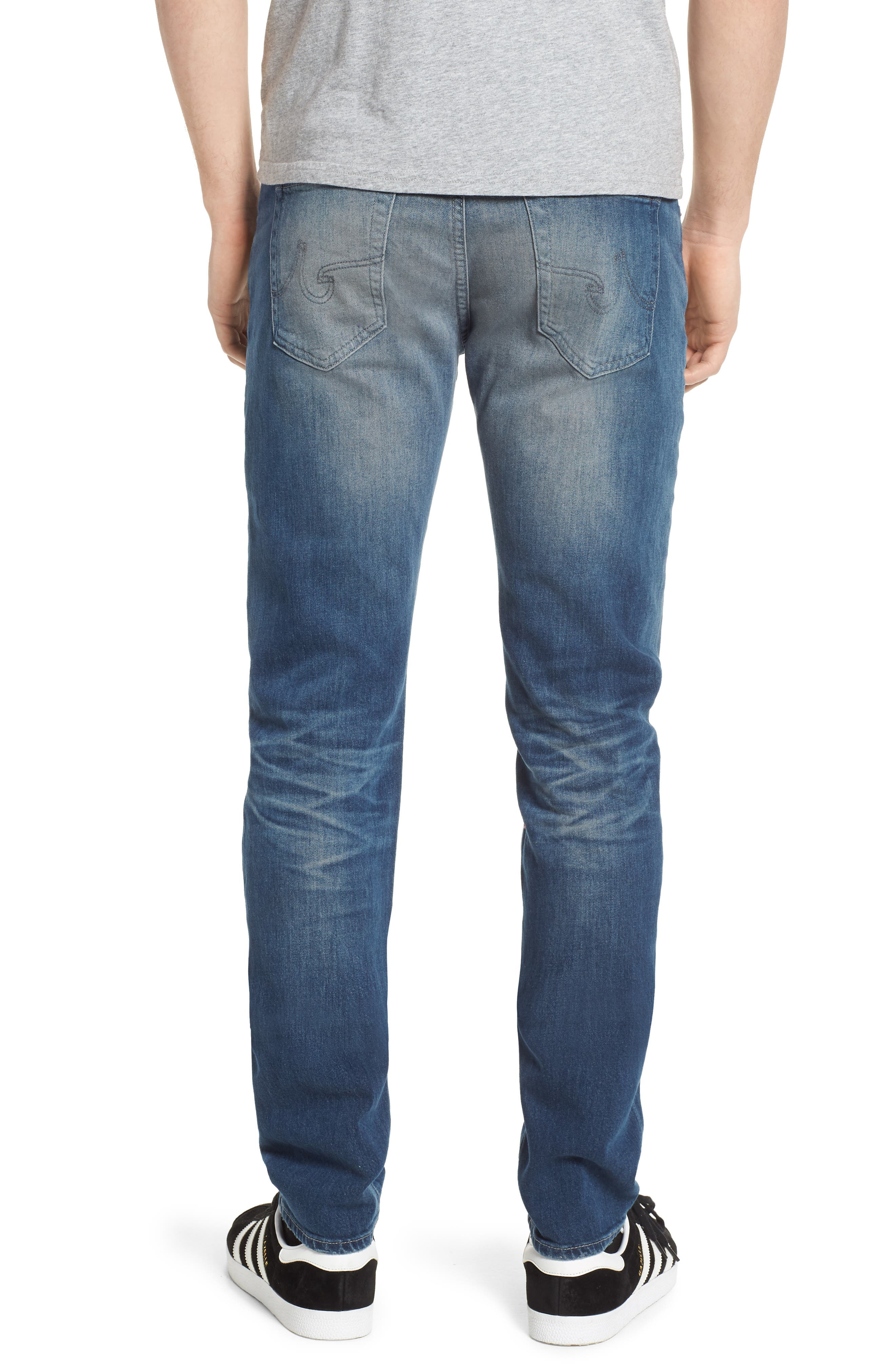 Dylan Skinny Fit Jeans,                             Alternate thumbnail 2, color,                             12 Years Off Ramp