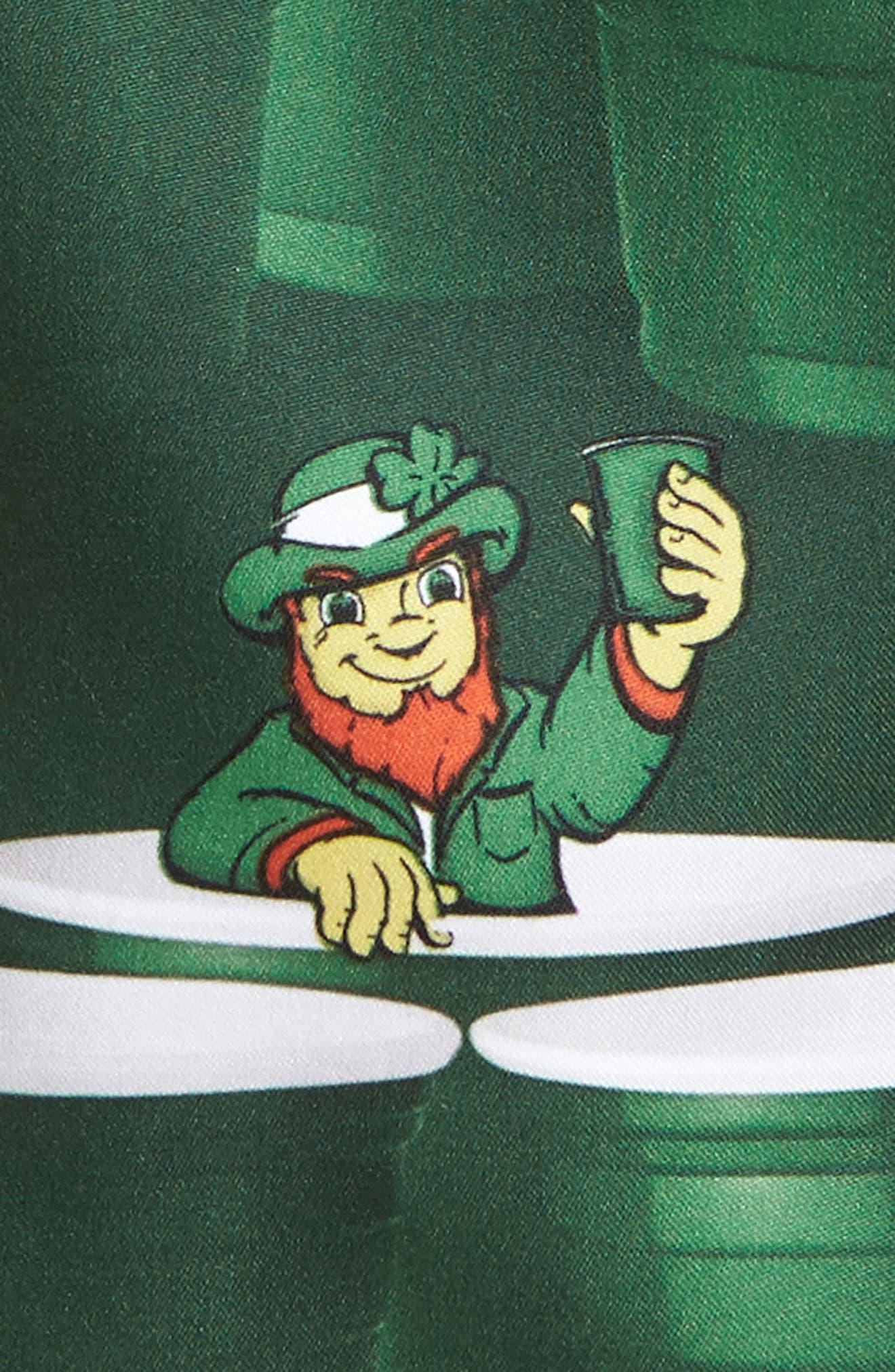 St. Paddy's Pong Board Shorts,                             Alternate thumbnail 4, color,                             Green