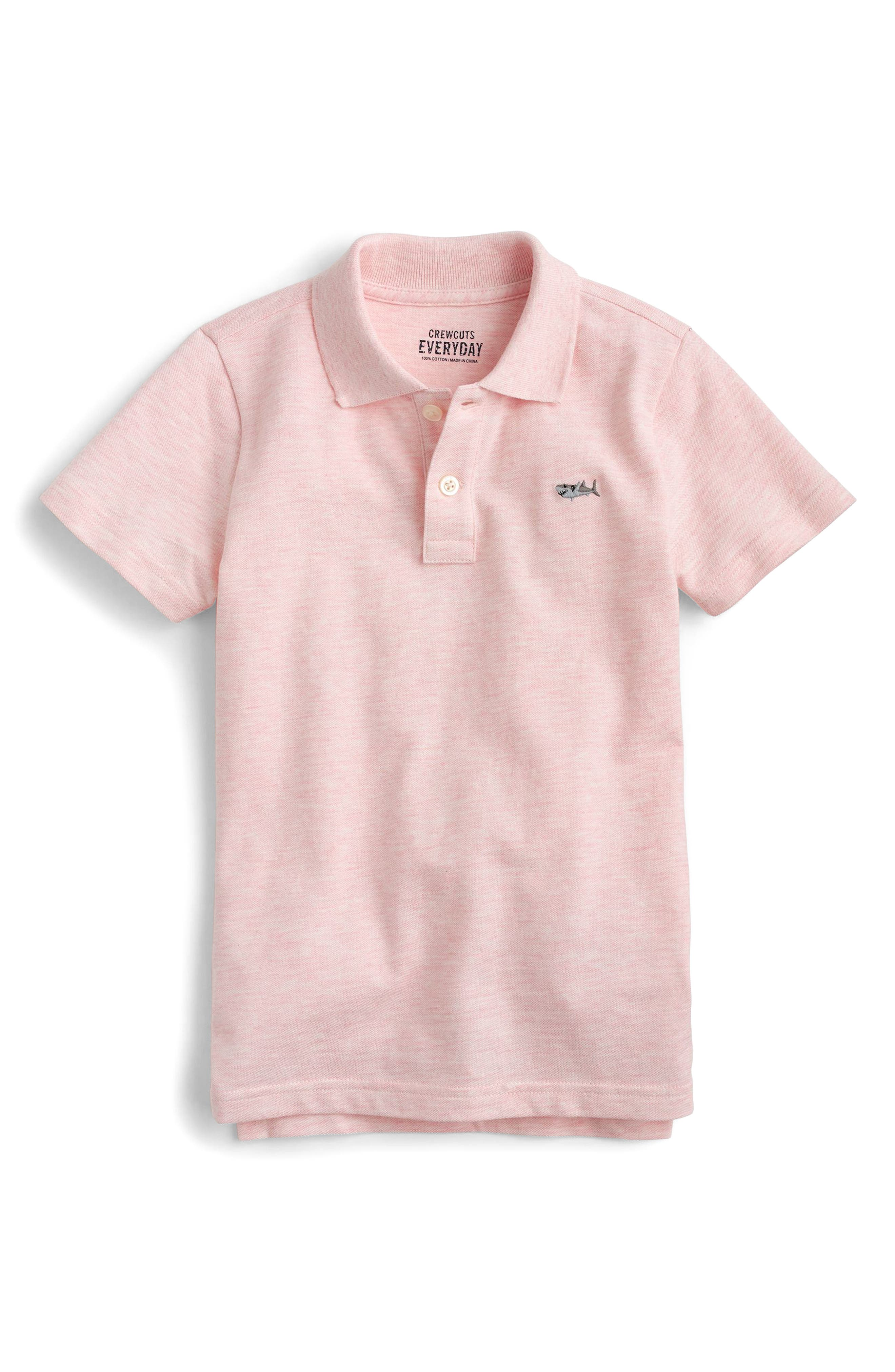 Alternate Image 1 Selected - crewcuts by J.Crew Critter Polo (Toddler Boys, Little Boys & Big Boys)