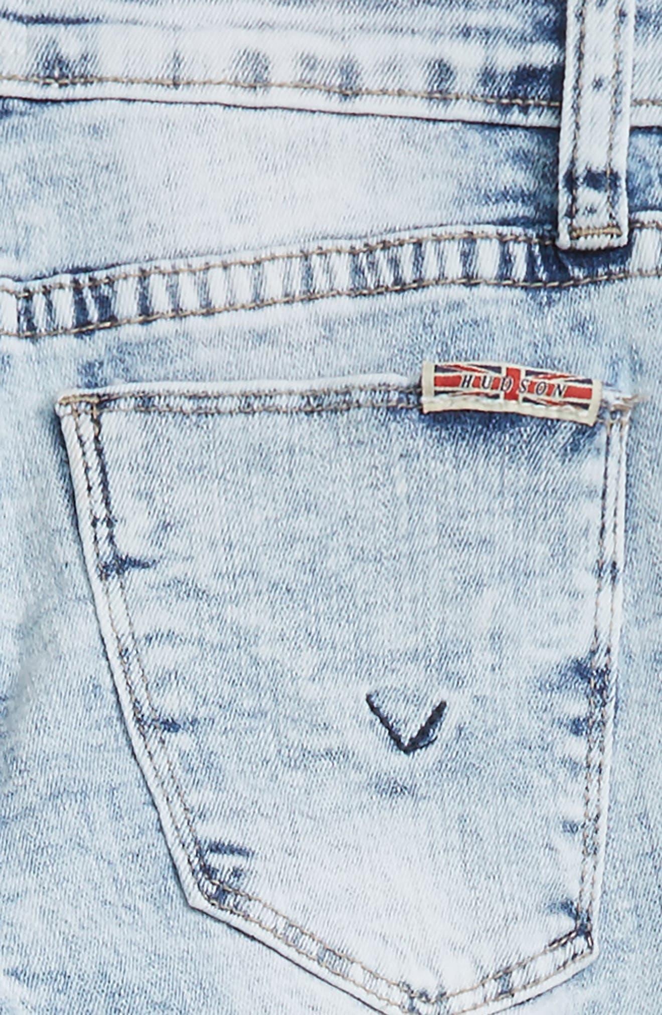 Vicky Crop Skinny Jeans,                             Alternate thumbnail 3, color,                             Iceberg Wash