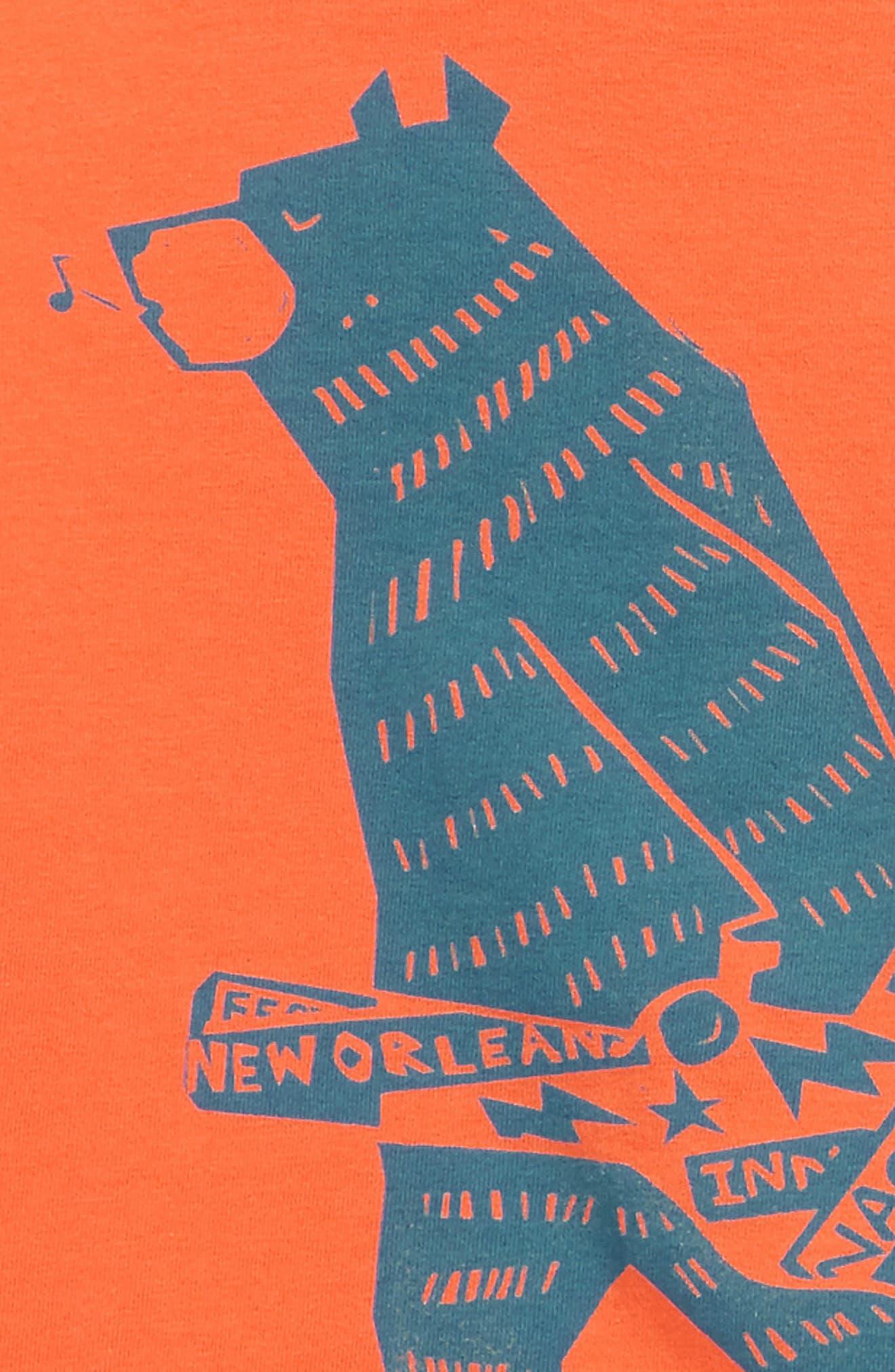Baby Bear T-Shirt & Cargo Shorts Set,                             Alternate thumbnail 2, color,                             Nectarine