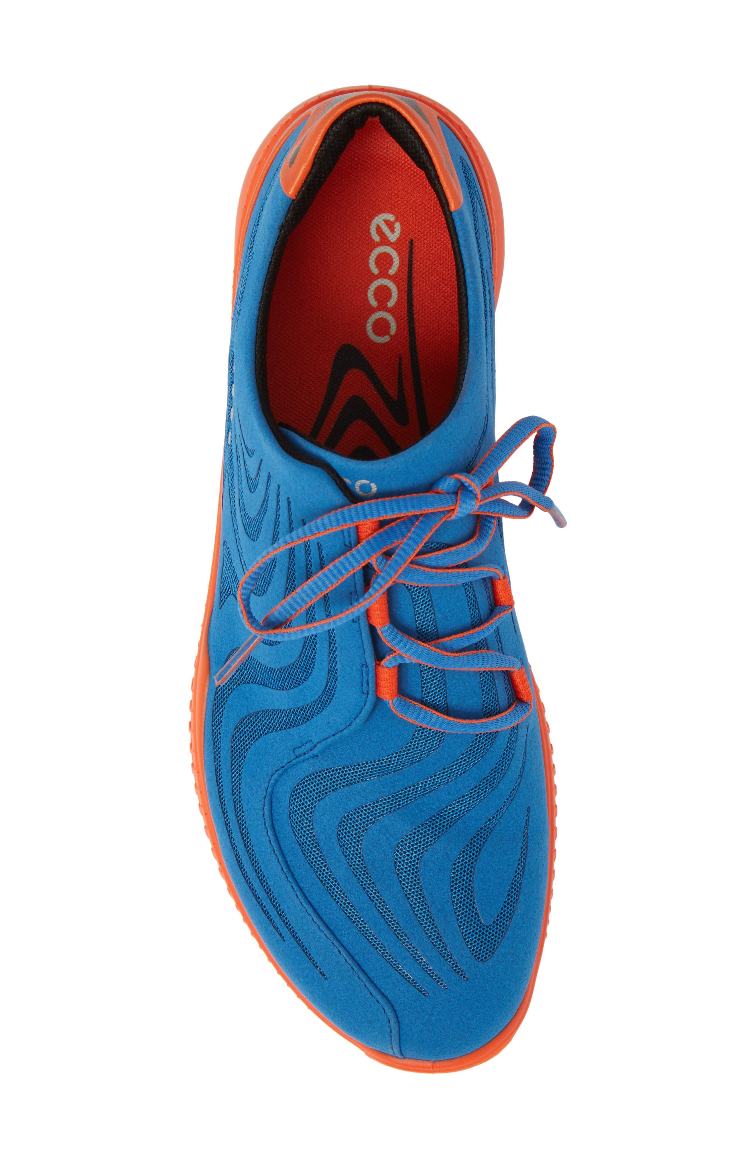 Golf S-Drive Water Resistant Shoe,                             Alternate thumbnail 5, color,                             Bermuda Blue Leather