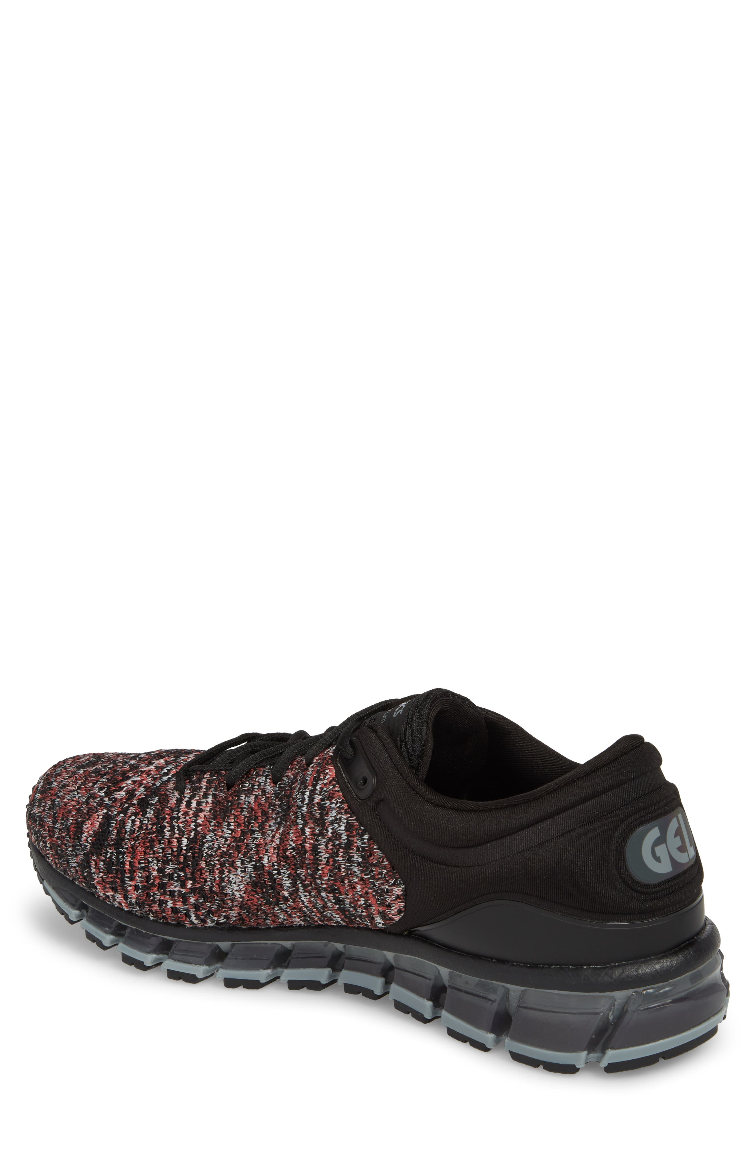 GEL-Quantum 360 Running Shoe,                             Alternate thumbnail 2, color,                             Black/ Class Red