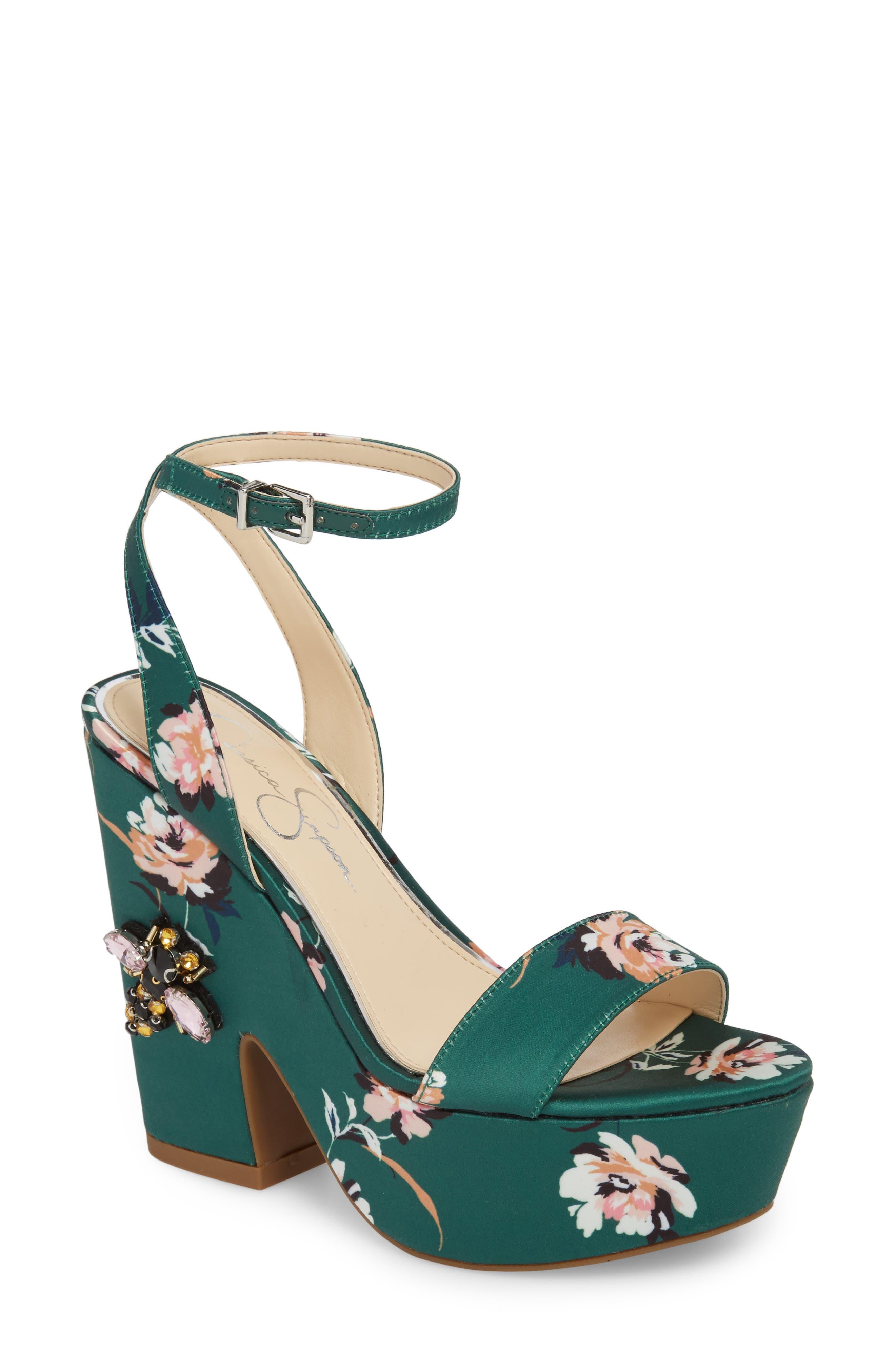 Jessica Simpson Carena Platform Sandal (Women)