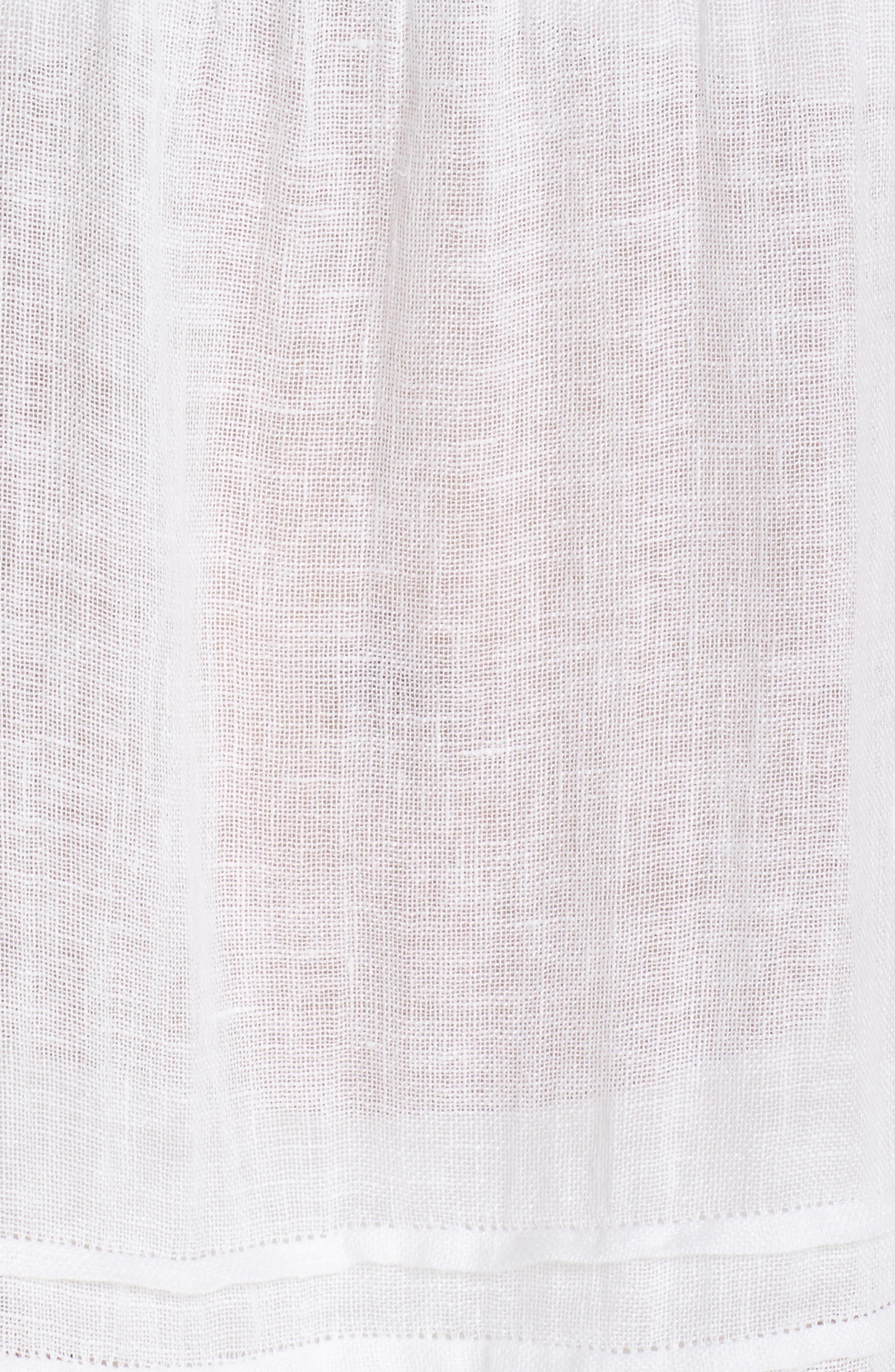 Esmerelda Cover-Up Dress,                             Alternate thumbnail 5, color,                             White