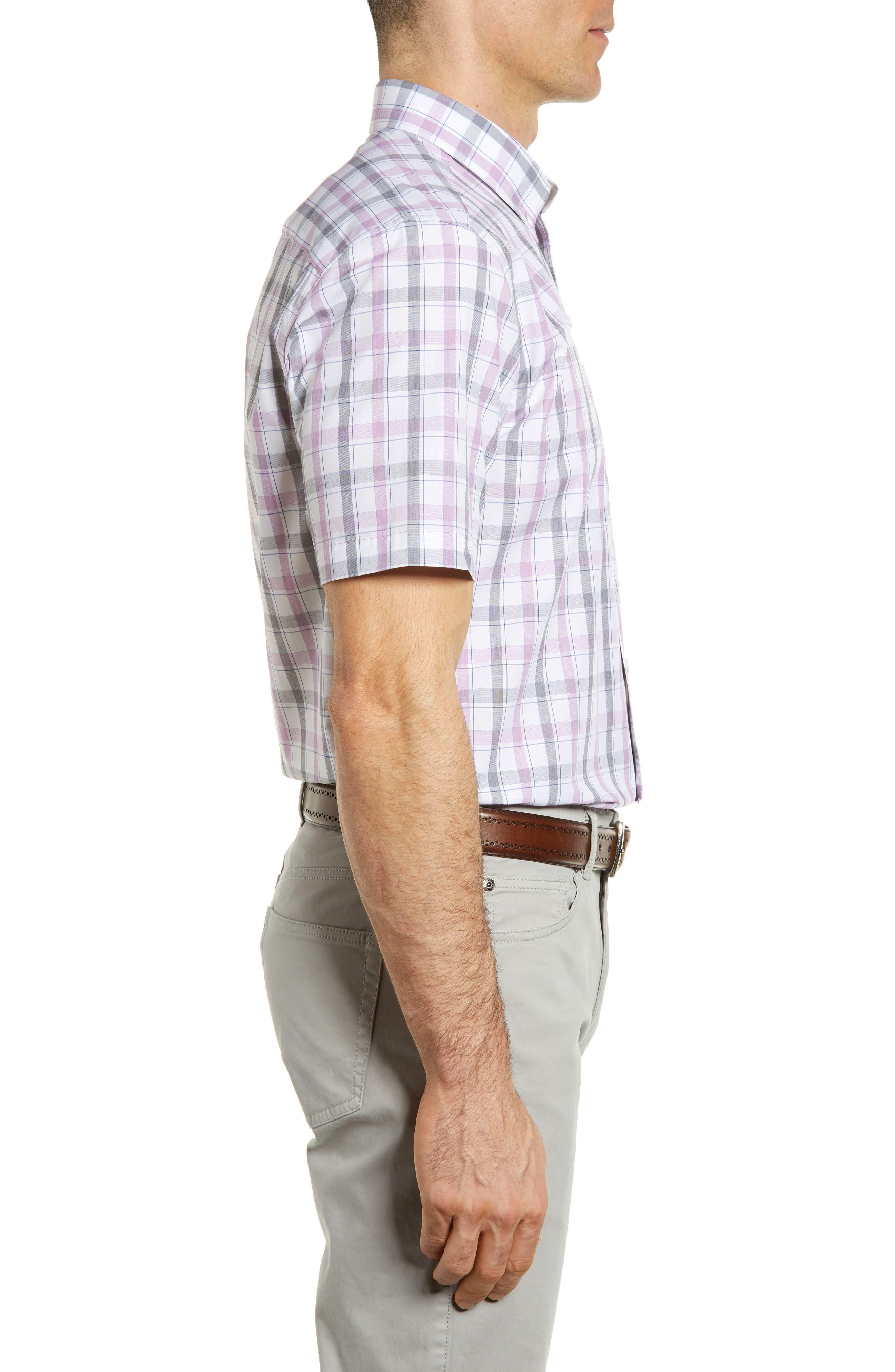 Alternate Image 3  - Cutter & Buck Griffen Non-Iron Plaid Sport Shirt