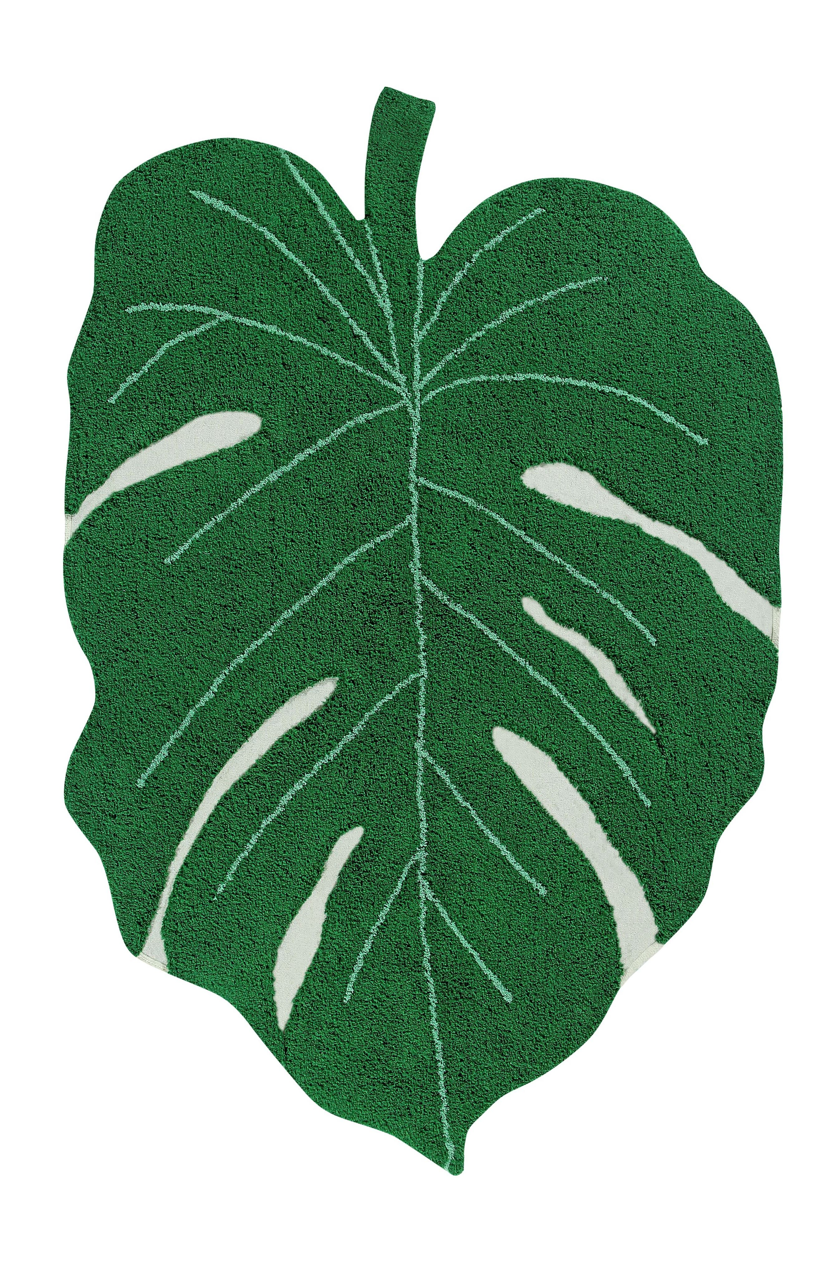 Lorena Canals Monstera Leaf Rug