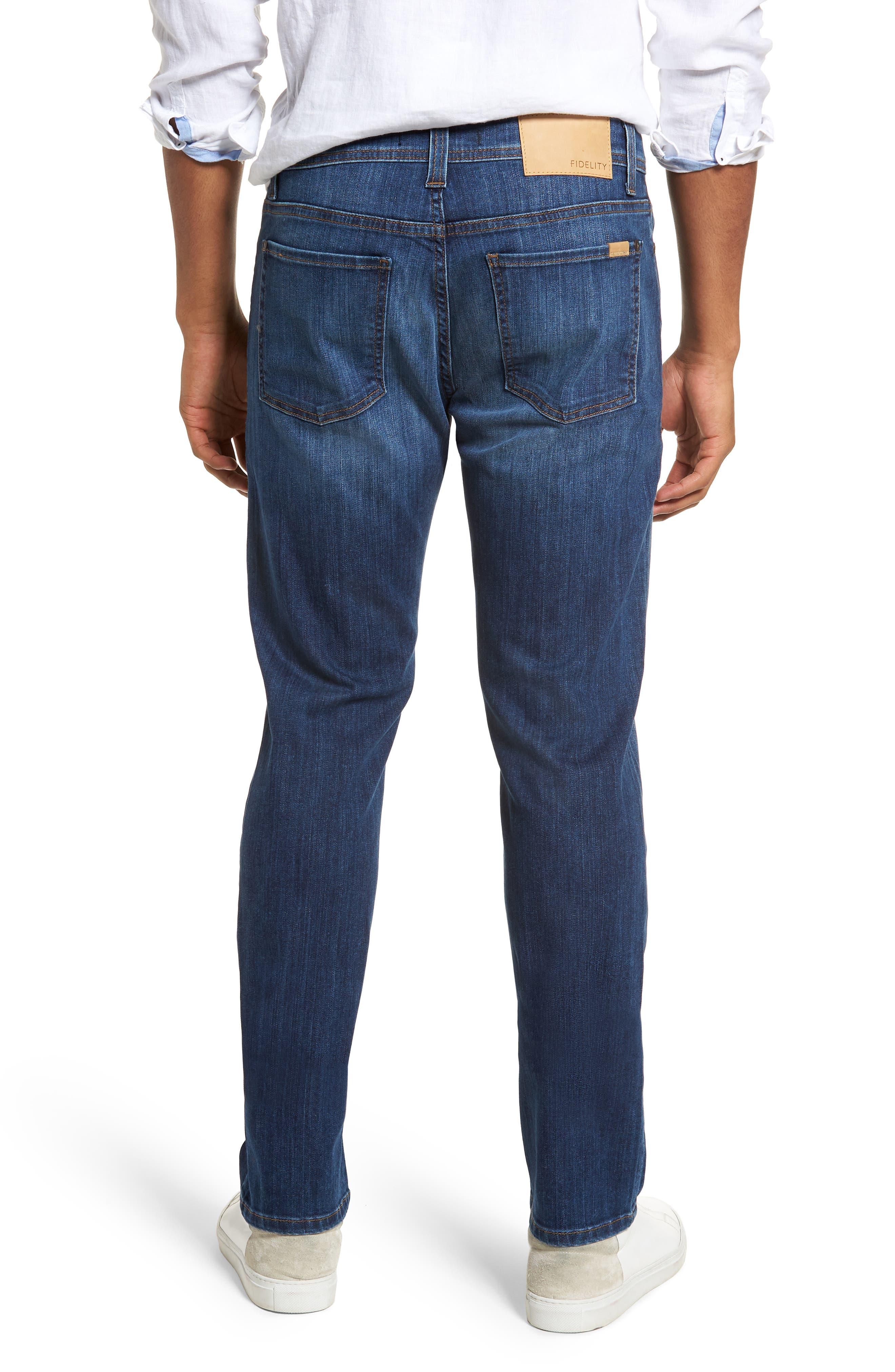 Jimmy Slim Straight Leg Jeans,                             Alternate thumbnail 2, color,                             Liverpool