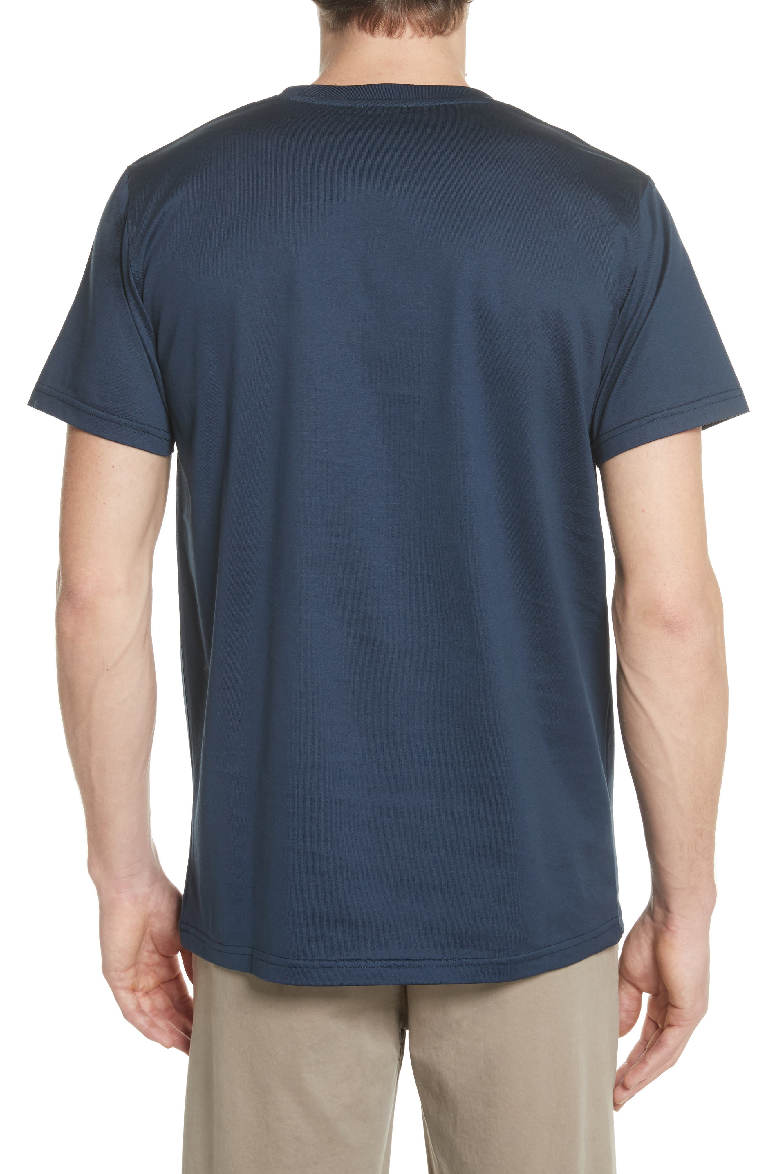 Niels N-Logo T-Shirt,                             Alternate thumbnail 2, color,                             Dark Navy