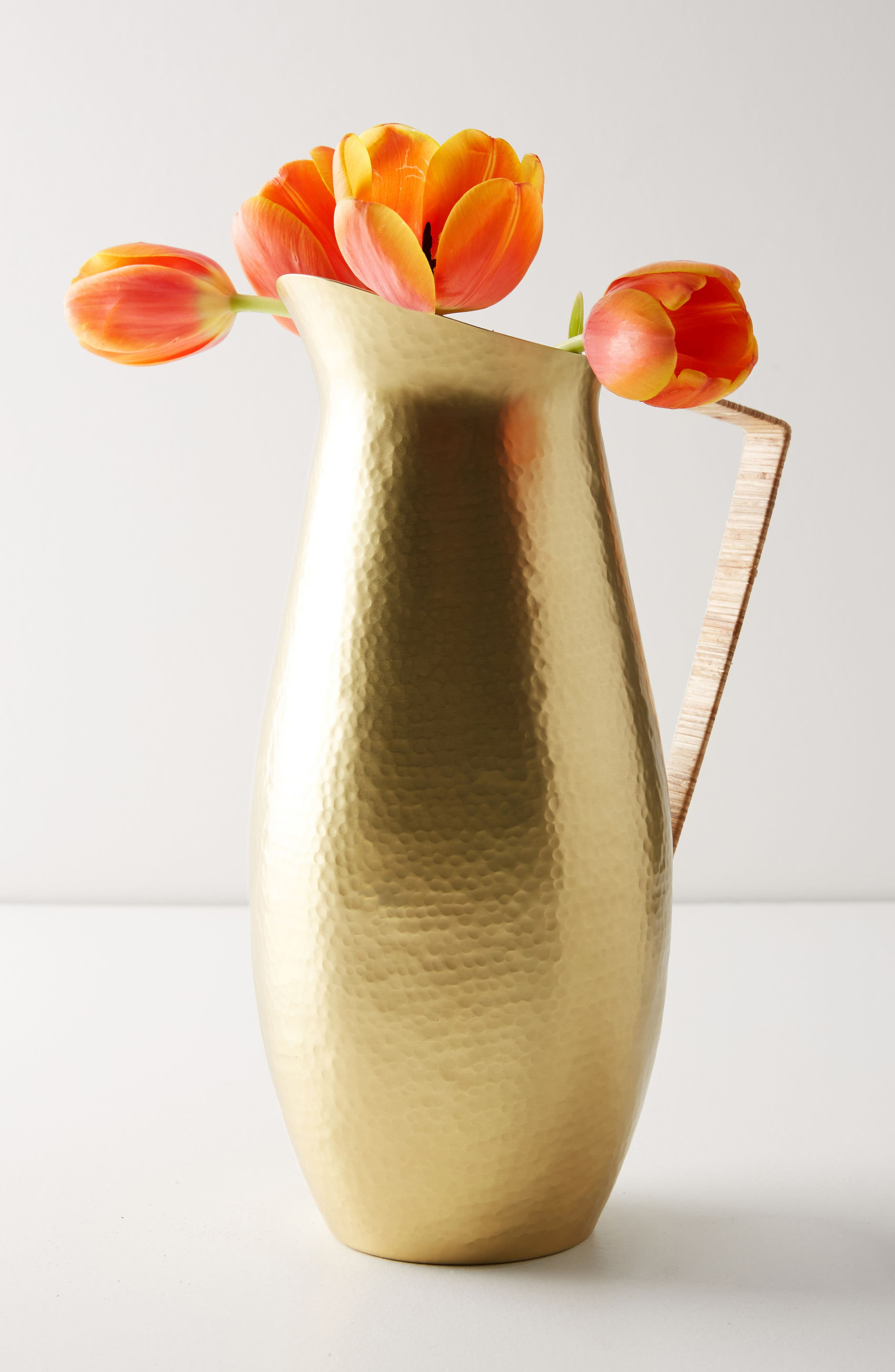 Hearthside Pitcher,                             Main thumbnail 1, color,                             Gold