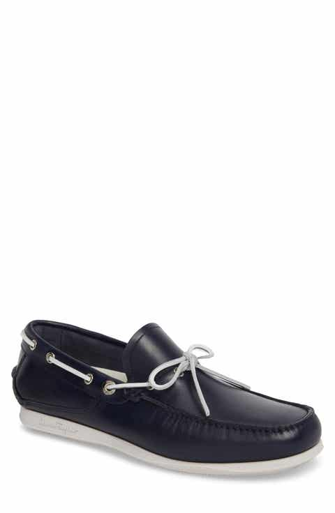 Salvatore Ferragamo Caraibi Boat Shoe Men