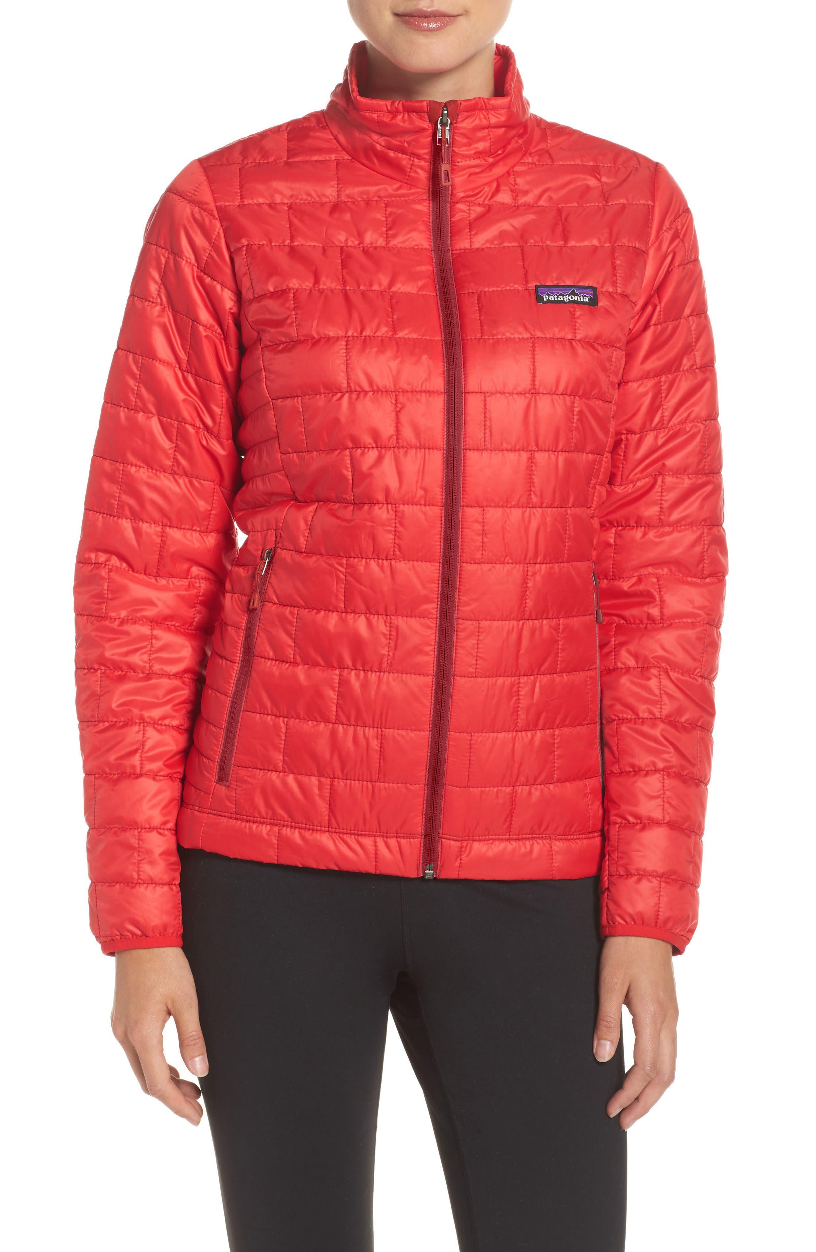 Nano Puff<sup>®</sup> Water Resistant Jacket,                             Main thumbnail 1, color,                             Maraschino