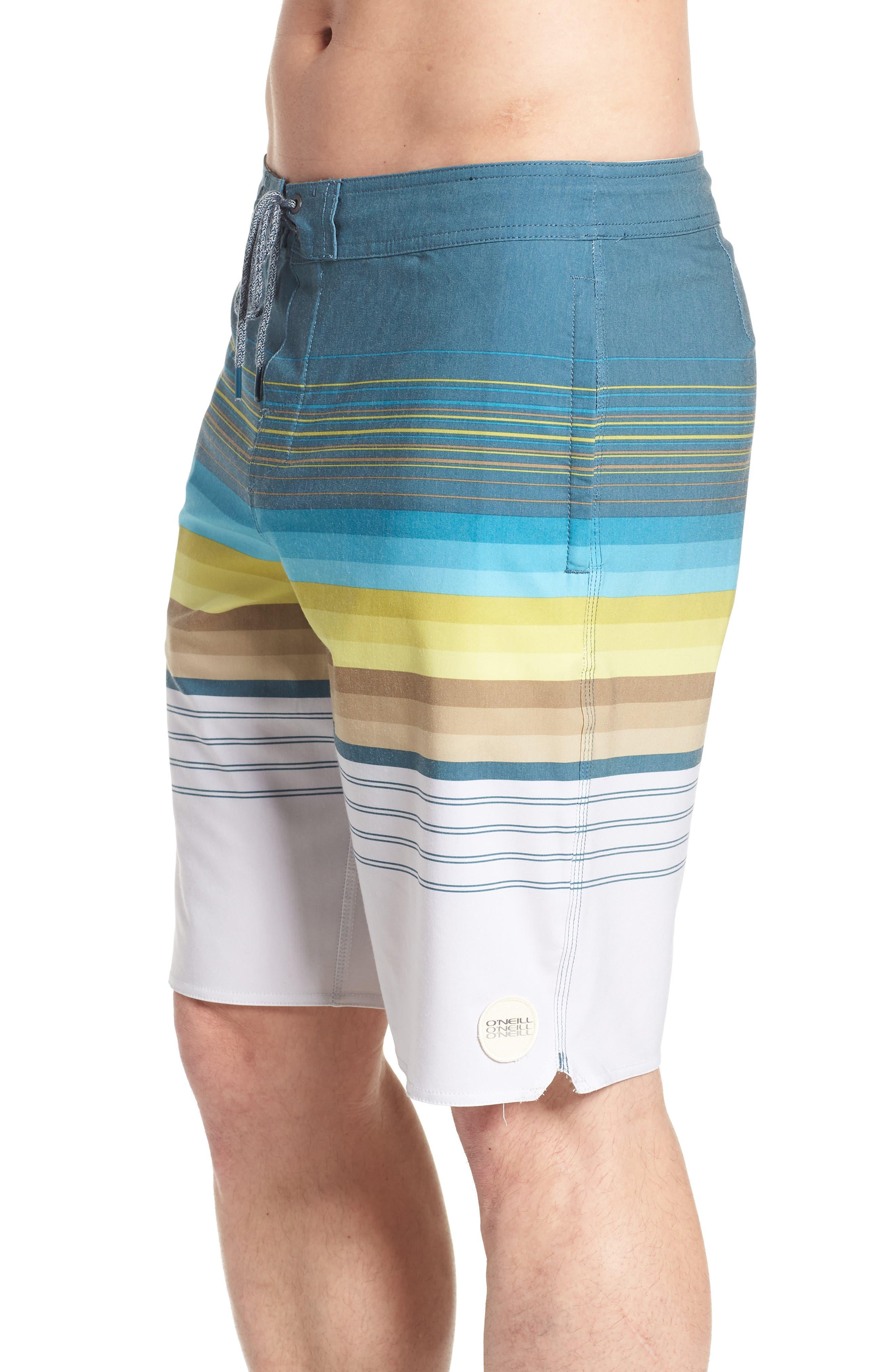 Sandbar Cruzer Board Shorts,                             Alternate thumbnail 3, color,                             Fog