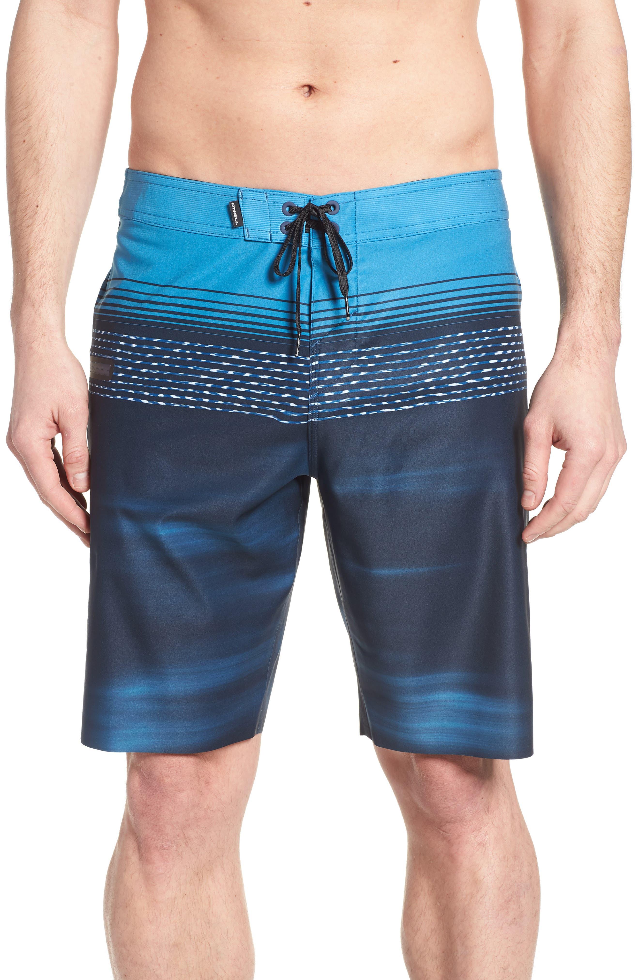 Hyperfreak Teevee Board Shorts,                         Main,                         color, Navy