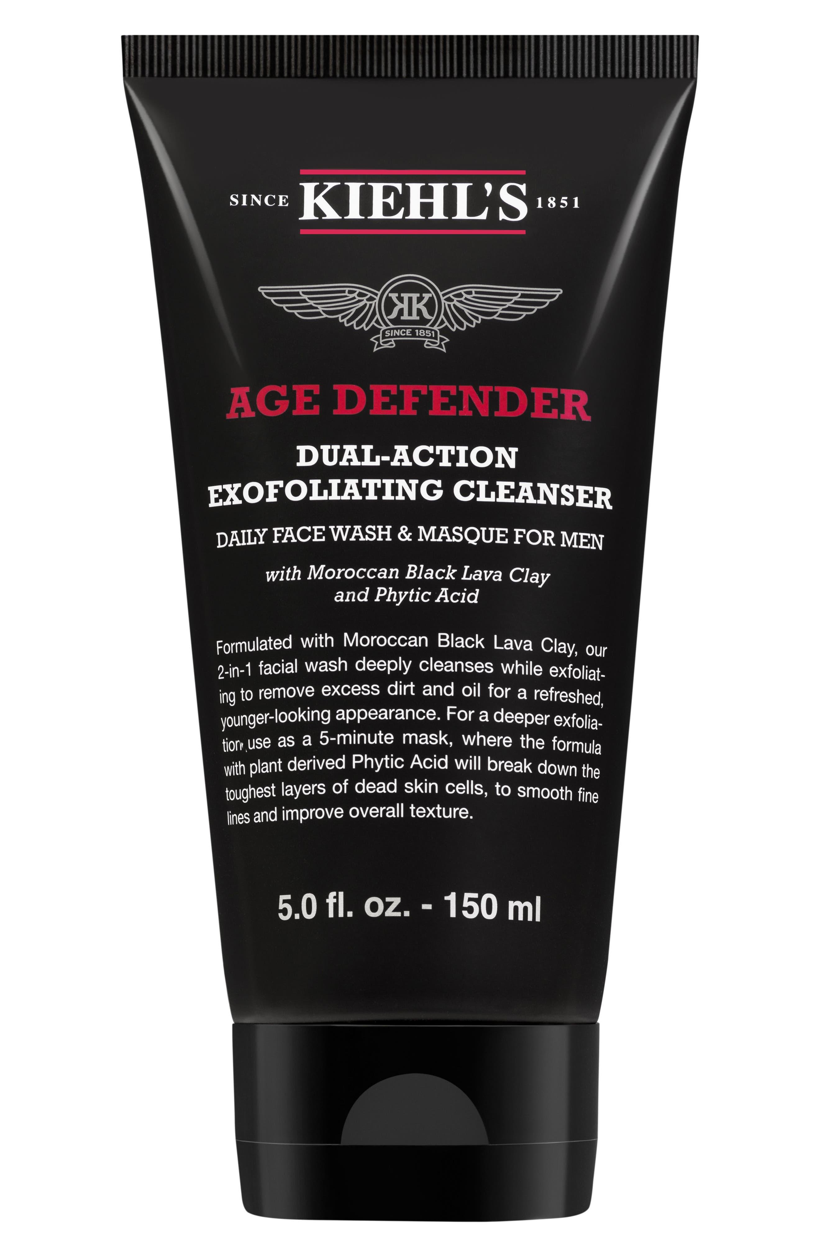 Age Defender Cleanser,                             Main thumbnail 1, color,                             No Color