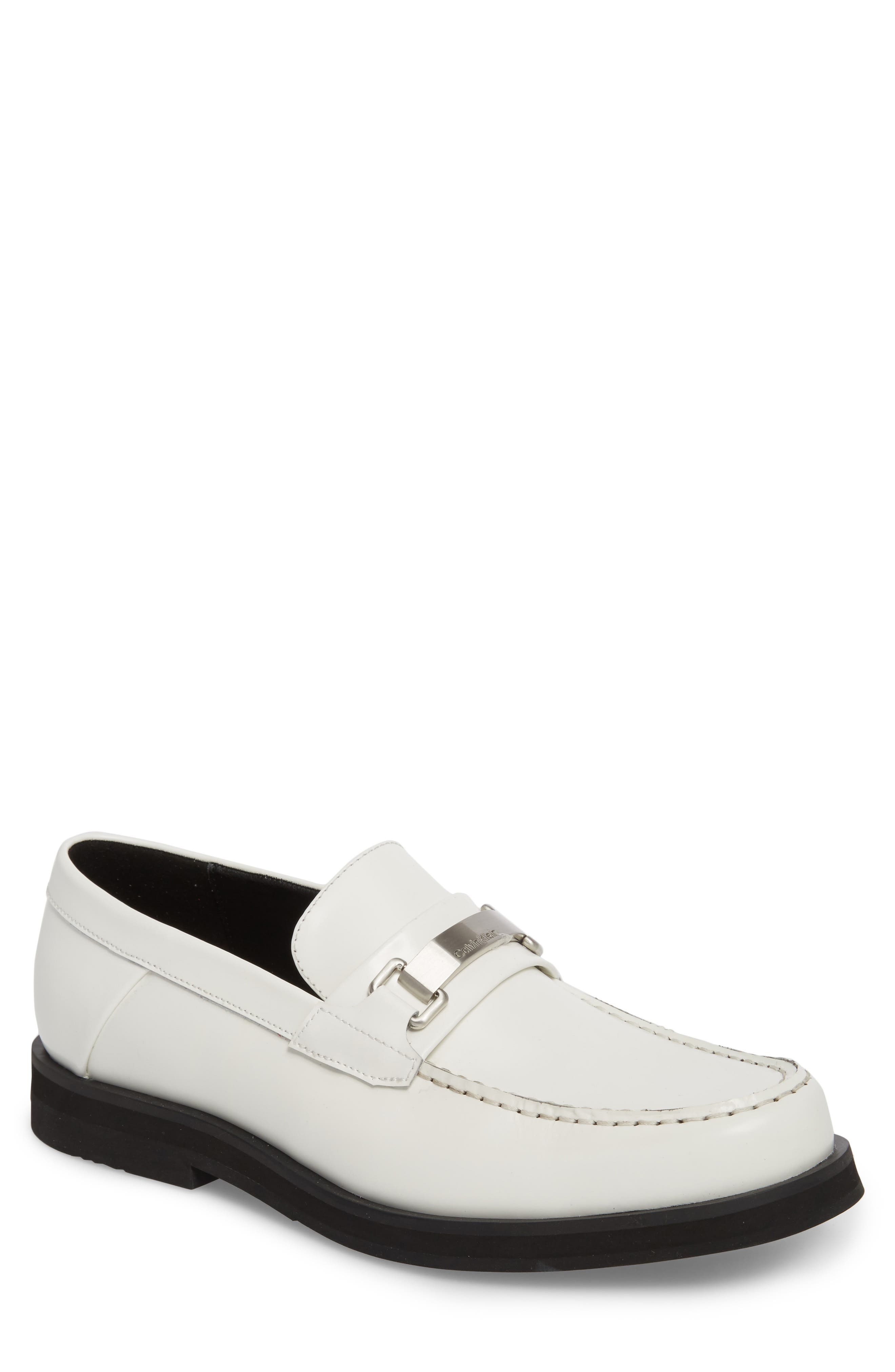 Calvin Klein Lyric Box Bit Loafer (Men)