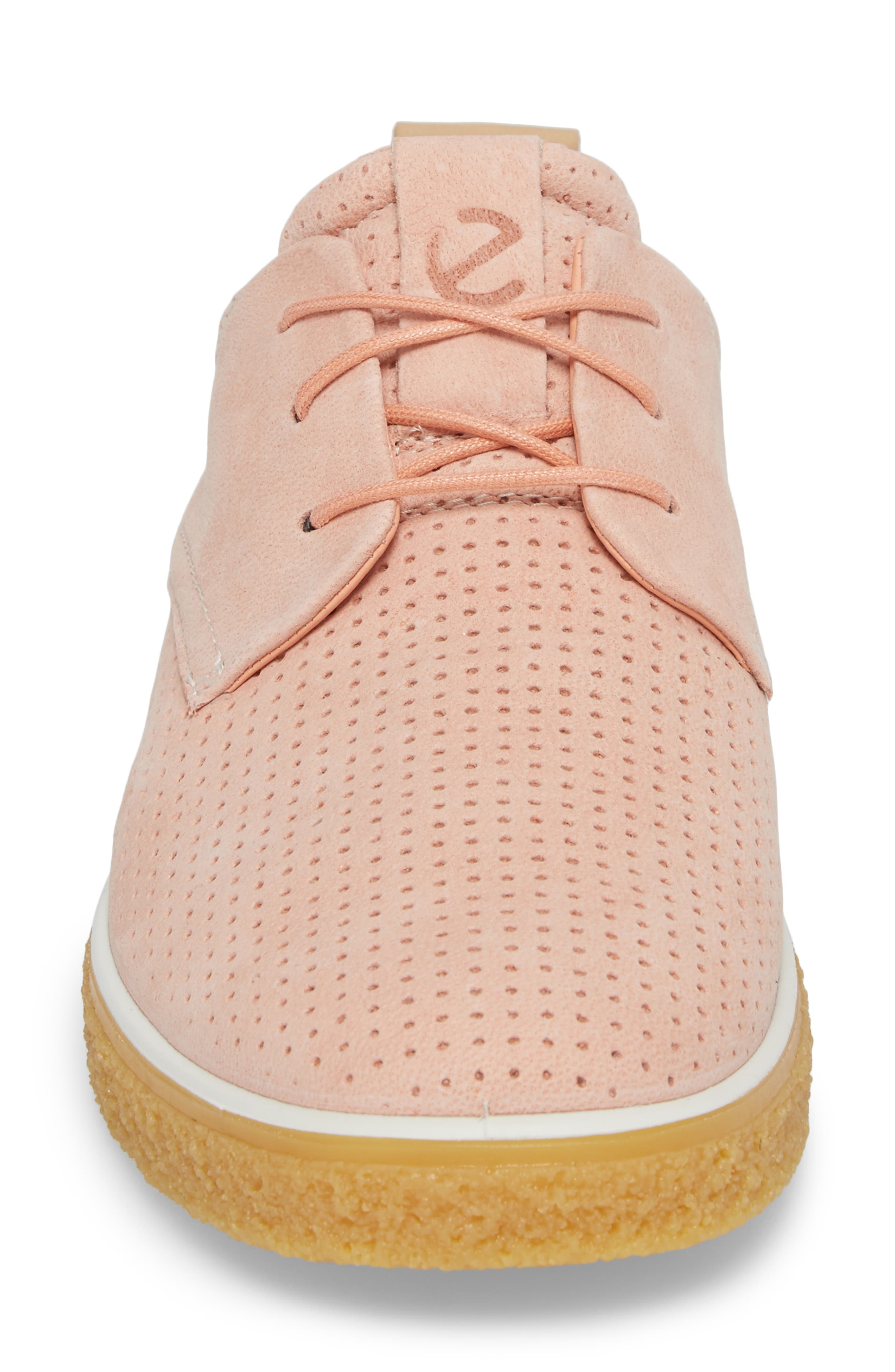 Crepetray Sneaker,                             Alternate thumbnail 4, color,                             Muted Clay Powder Leather