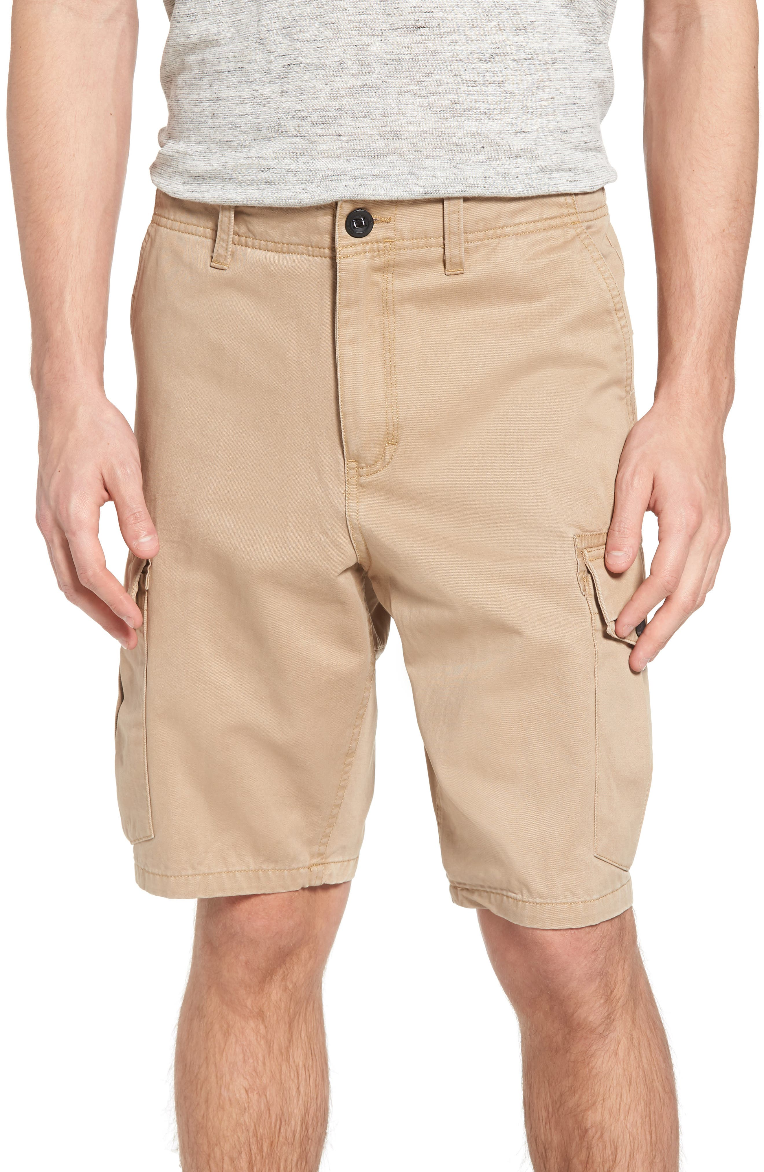 Campbell Cargo Shorts,                             Main thumbnail 1, color,                             Khaki