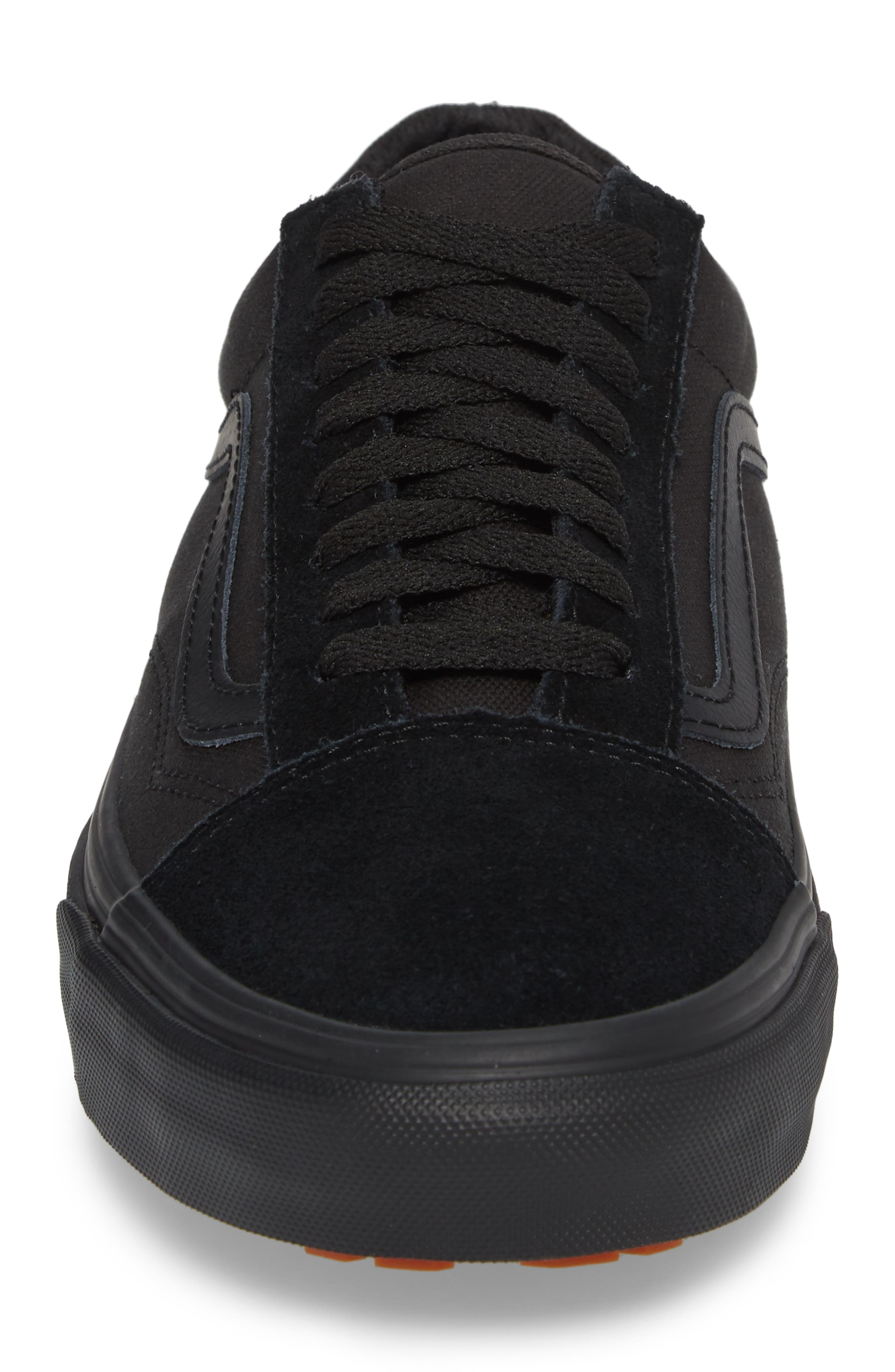 Made for the Makers Old Skool UC Sneaker,                             Alternate thumbnail 4, color,                             Black/ Black Leather
