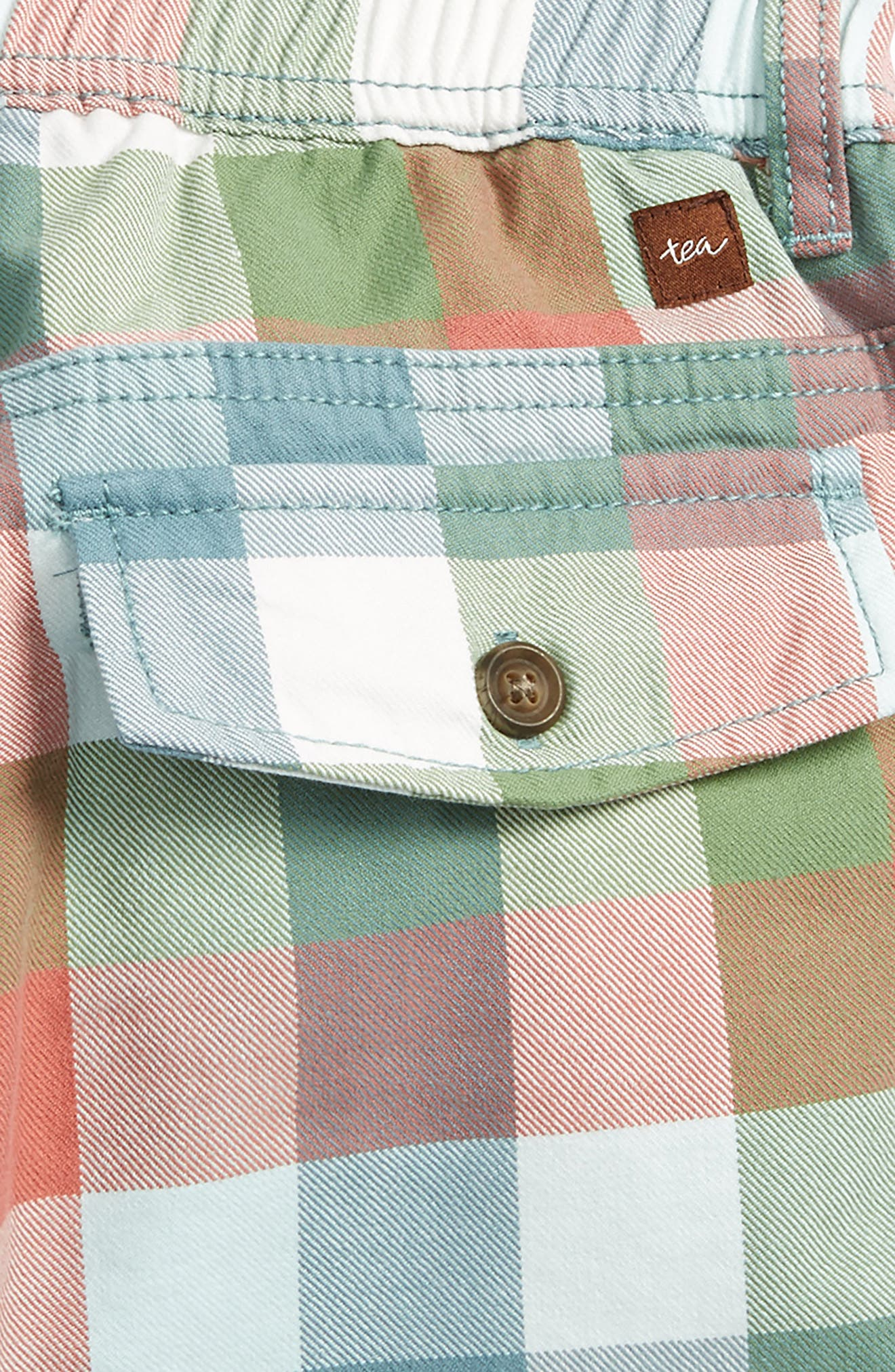 Check Canvas Shorts,                             Alternate thumbnail 3, color,                             Classic Plaid