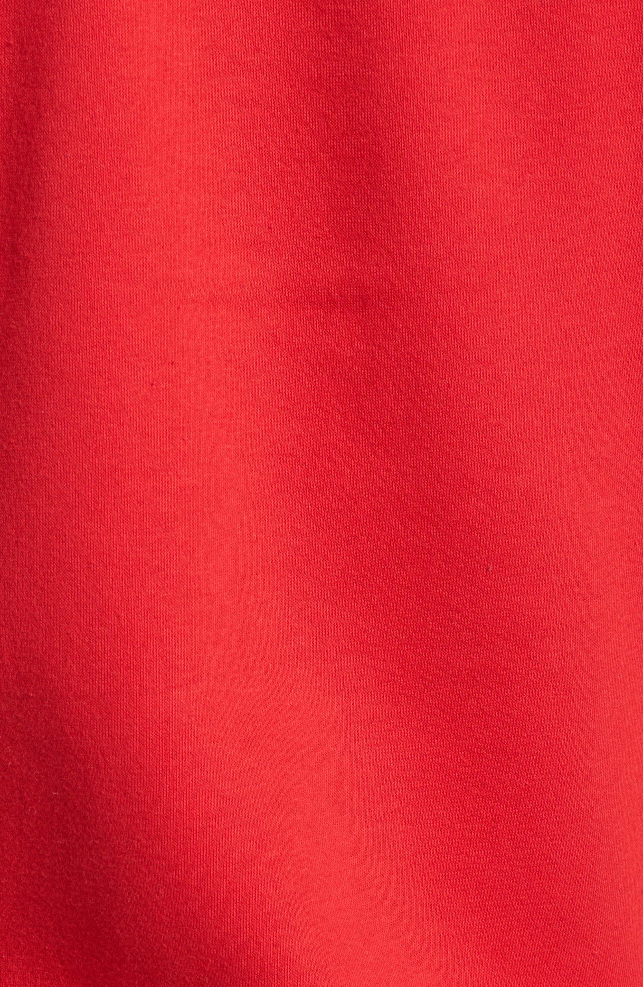 Rivington II Hooded Jacket,                             Alternate thumbnail 5, color,                             Red