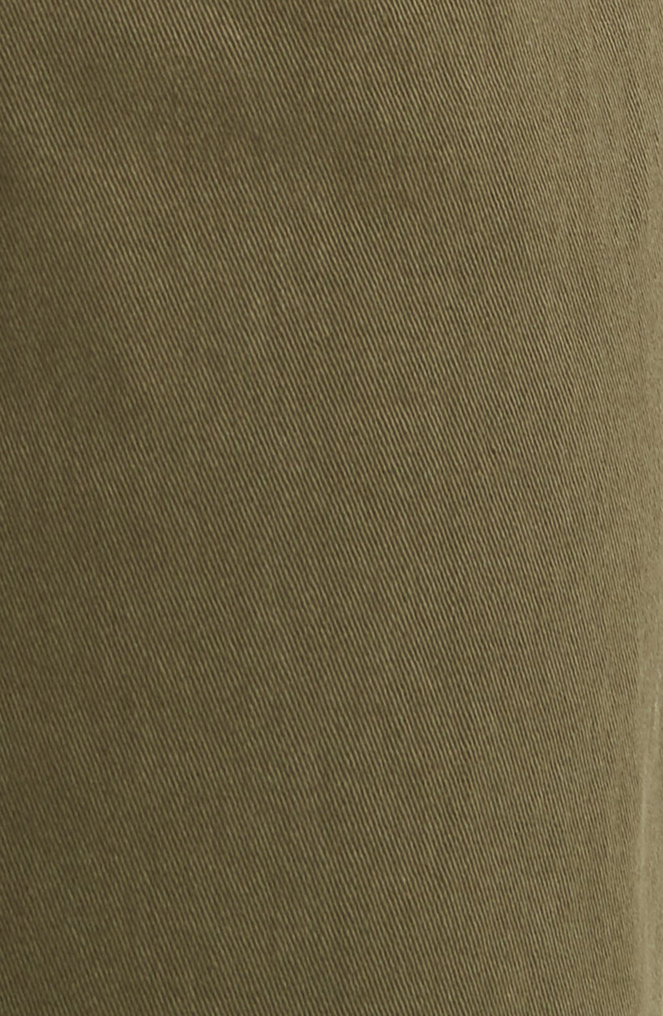 Jeans Co. Kingston Slim Straight Leg Jeans,                             Alternate thumbnail 5, color,                             Olive Night