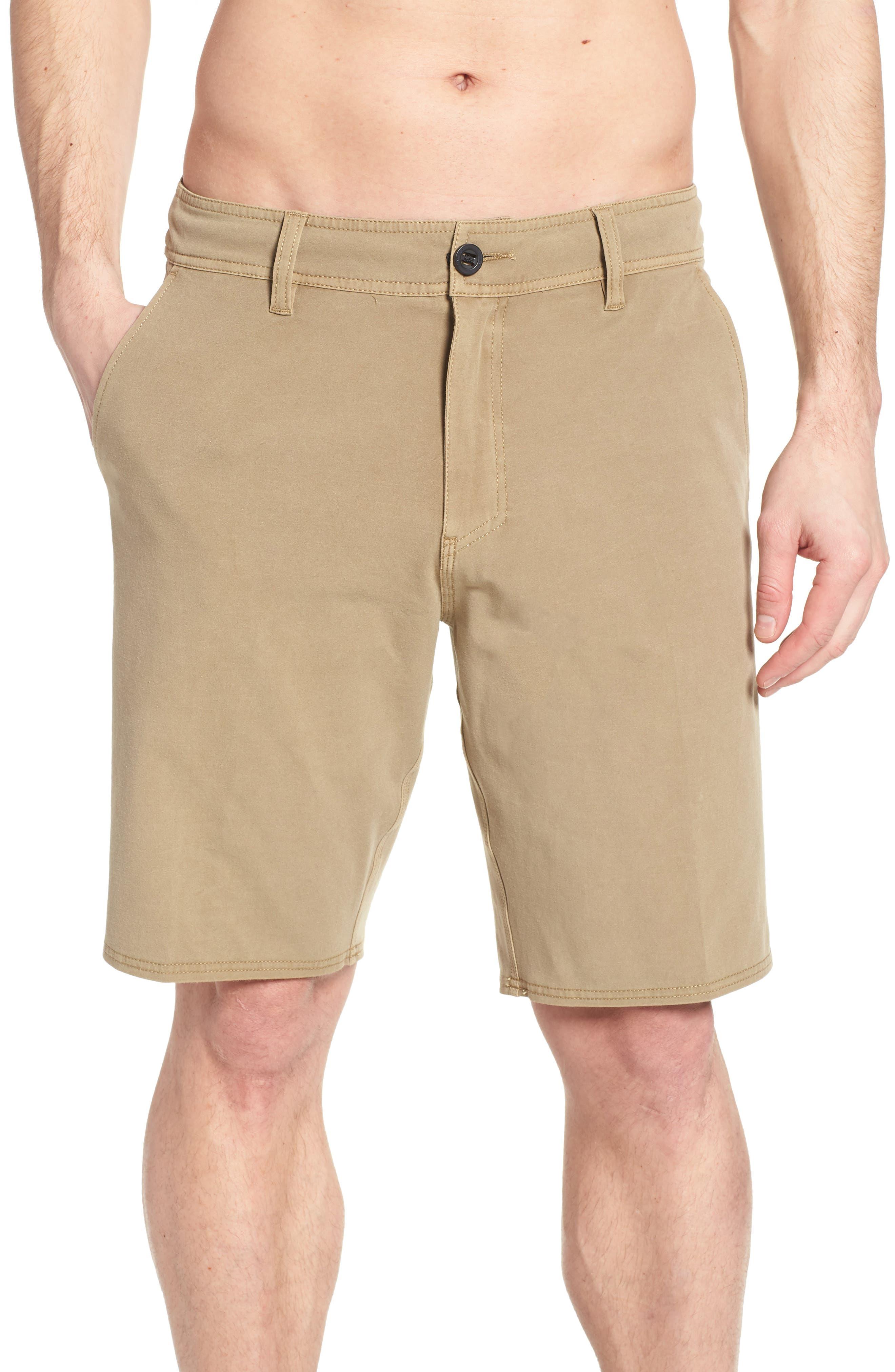Venture Overdye Hybrid Shorts,                             Alternate thumbnail 4, color,                             Khaki
