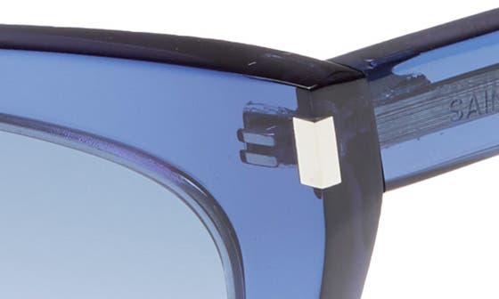 1f1e31172aa Women s Blue Cat-Eye Sunglasses