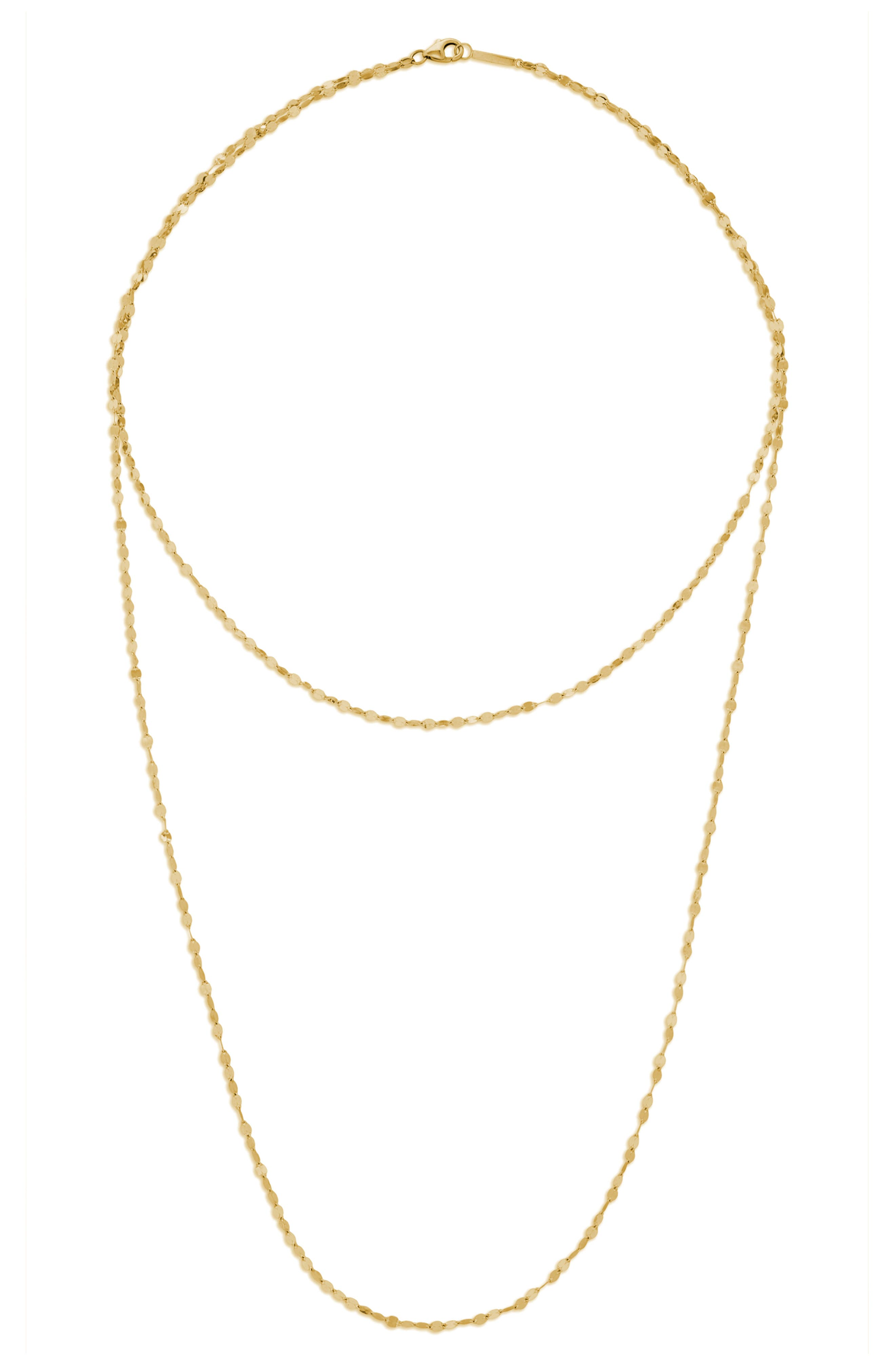 Lana Jewelry Double Blake Layering Necklace